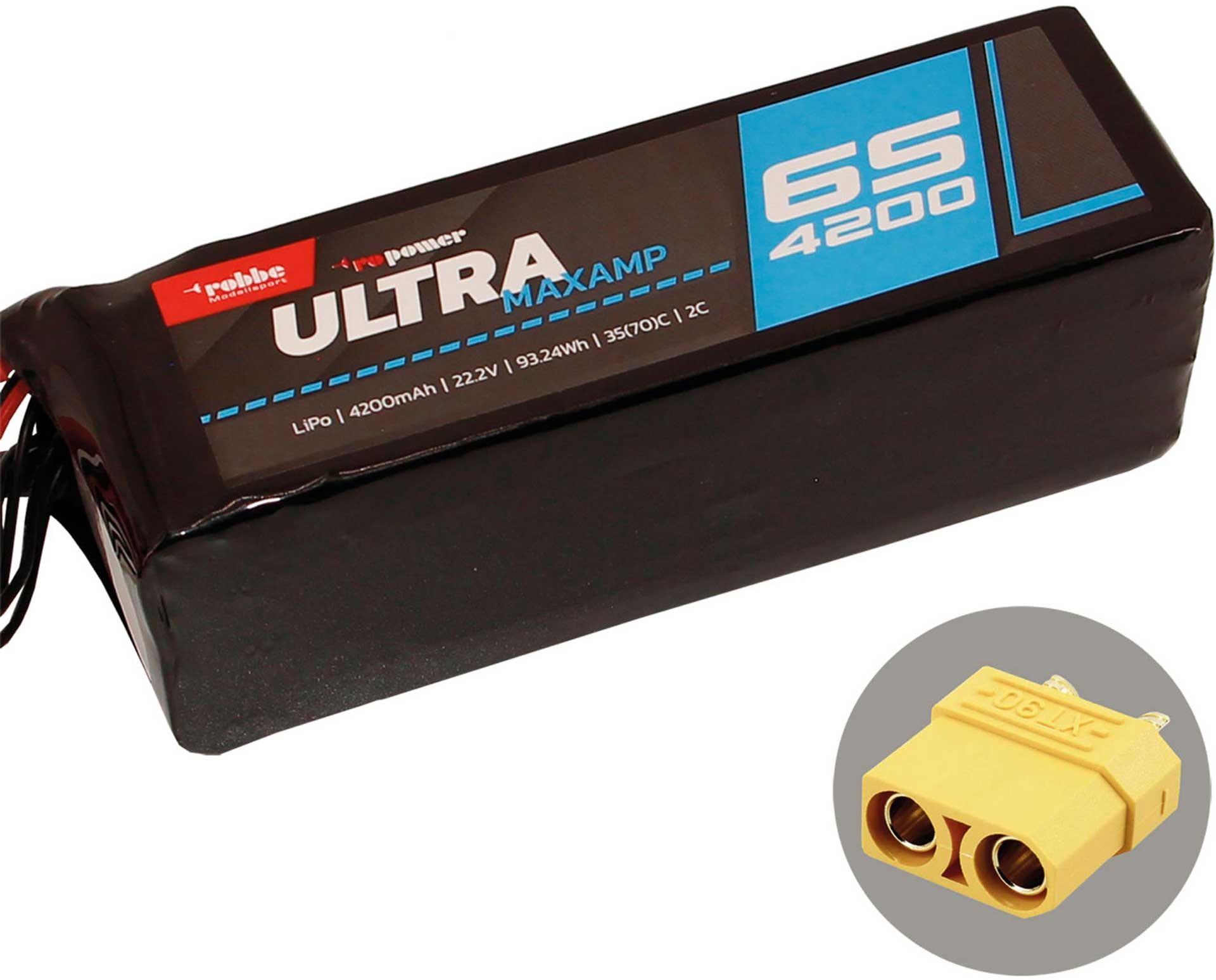 ROBBE RO-POWER ULTRA MAXAMP 4200MAH 22,2 VOLT
