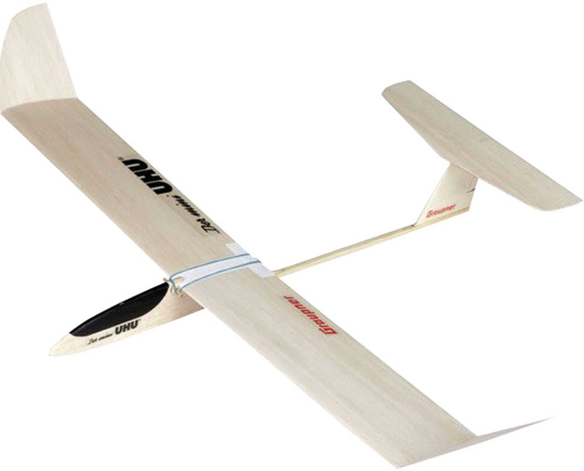 GRAUPNER THE MINI UHU FREE FLIGHT OR R/C MODEL