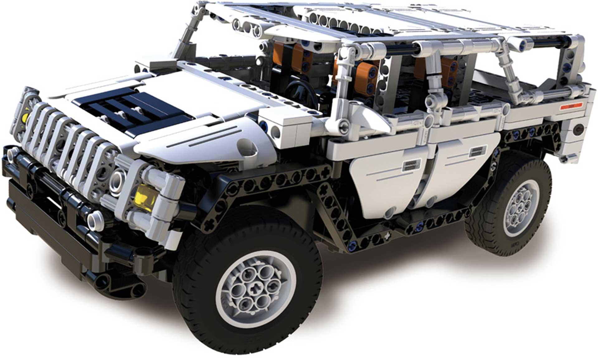 CaDA Warrior H2 (575 Teile) Klemmbausteine ferngesteuert