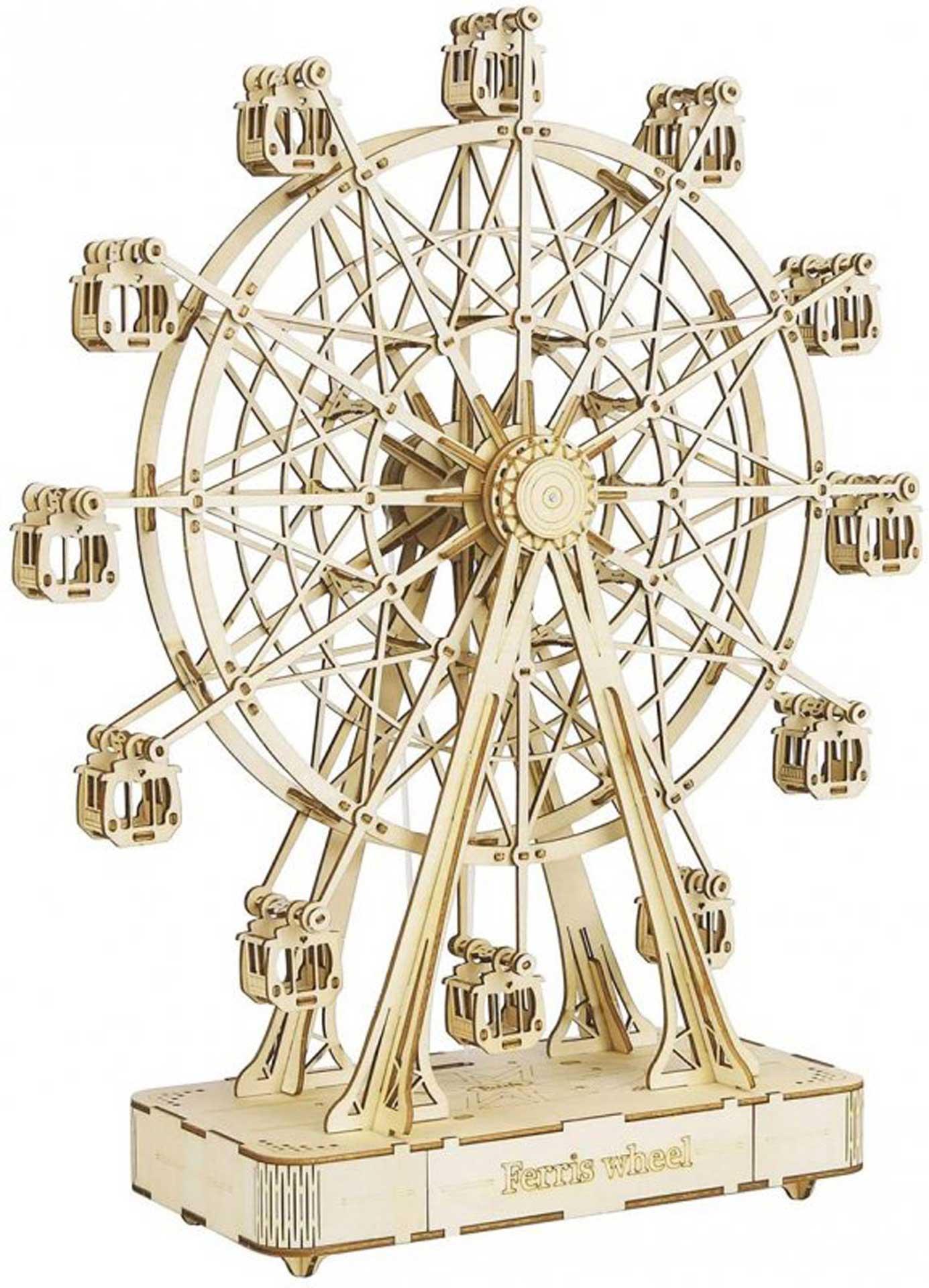 PICHLER Riesenrad Musicbox (Lasercut Holzbausatz )