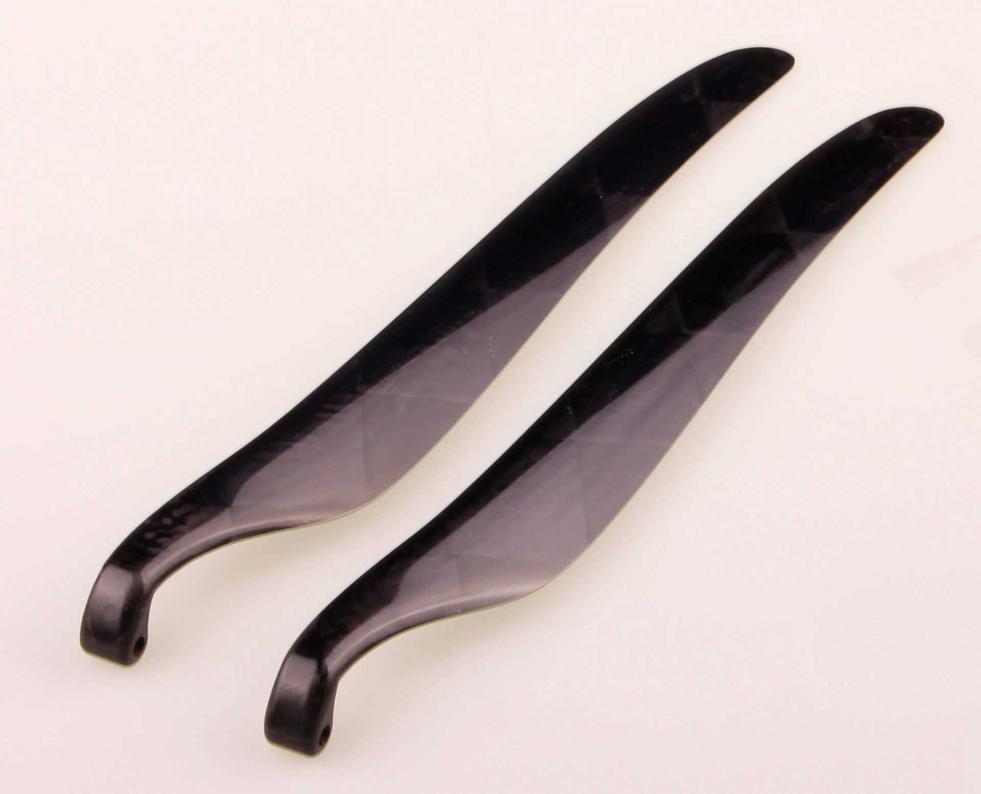 GM Propellers Folding propeller  F5J 13x10 Competition Carbon black 1 pair