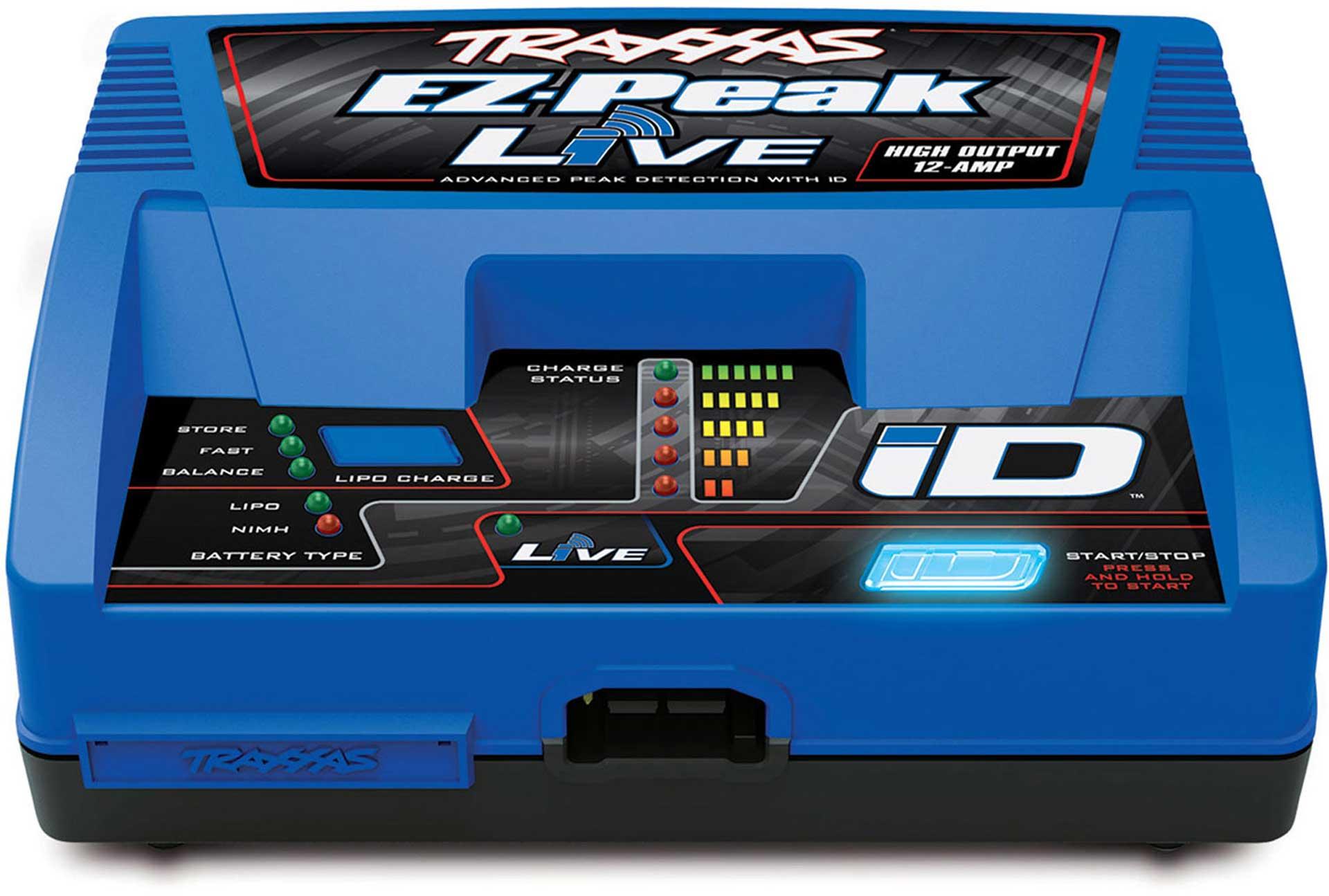 TRAXXAS EZ-PEAK LIVE TO 12-AMP NIMH/LIPO