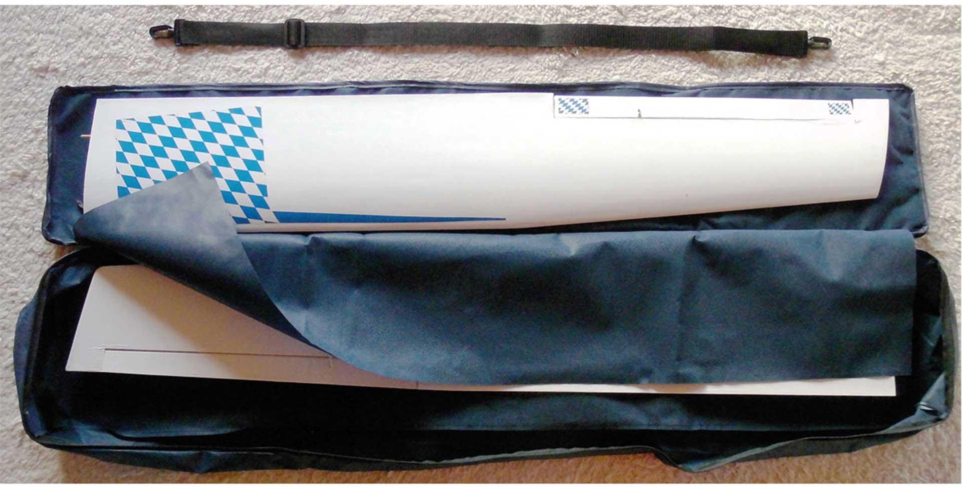 MODELLBAU LINDINGER MODEL BACKPACK 175 175/34/13CM TRANSPORT BACKPACK FOR GLIDERS