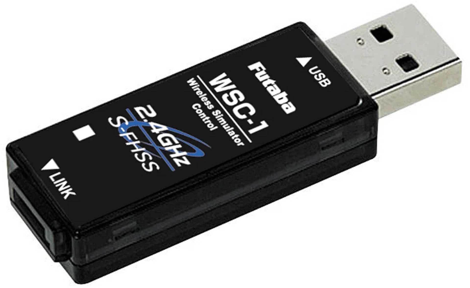FUTABA Sim Control WSC-1 USB-Simulator Interface S-FHSS für RealFlight 8/9