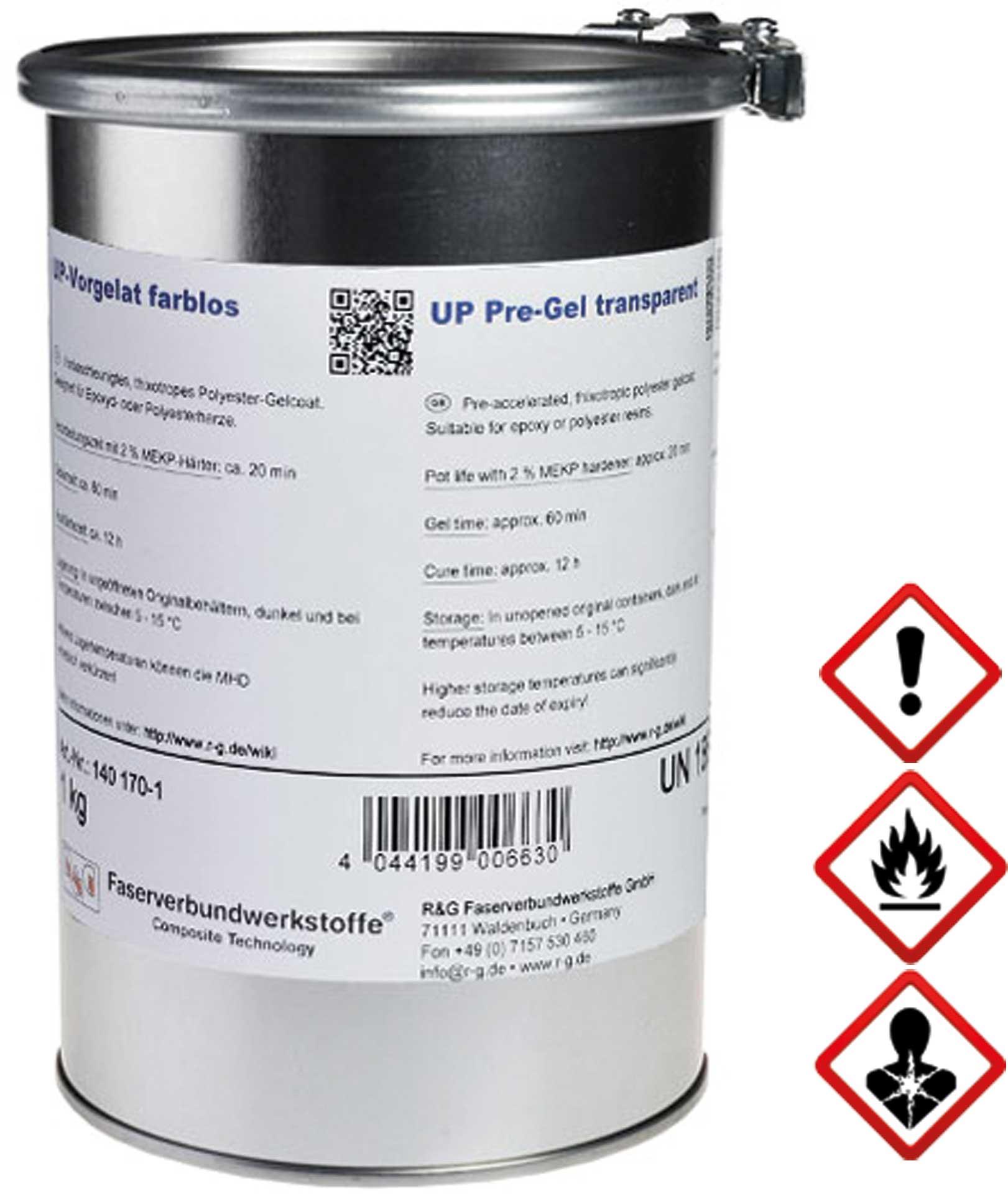 R&G UP-Vorgelat (farblos) Dose/ 1 kg