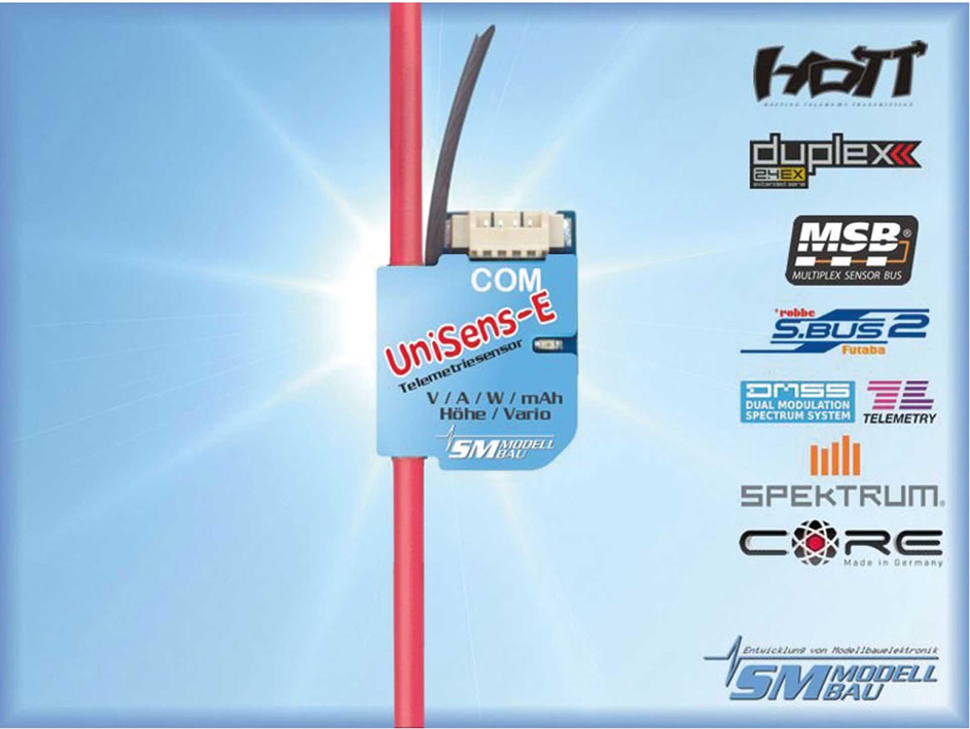 SM-Modellbau UNISENS-E 55 A MIT 1,5MM² SILIKOKABEL