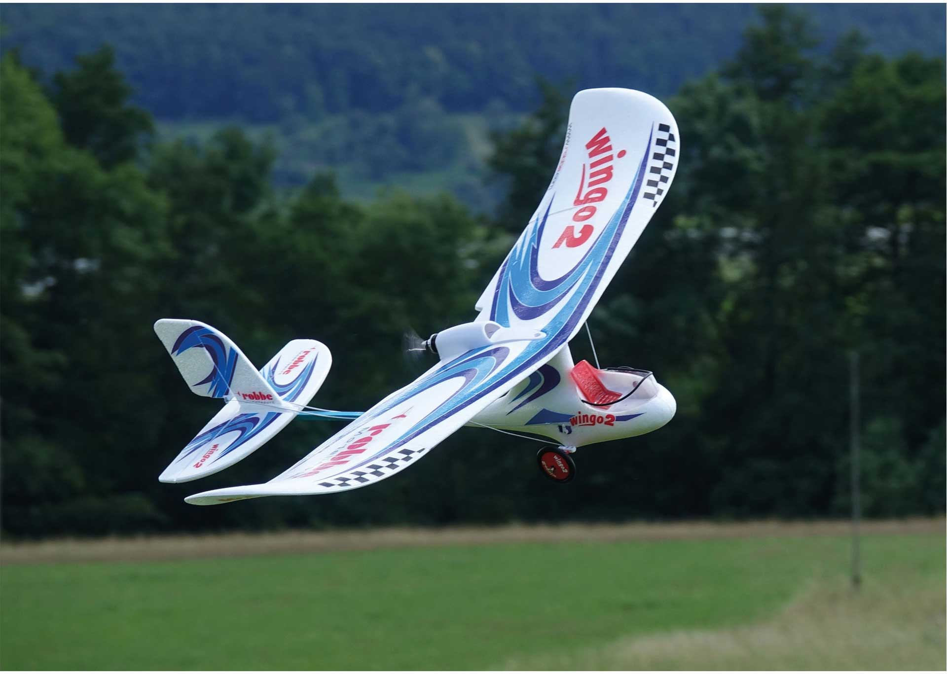 """Robbe Modellsport WINGO 2 PNP """"you can fly"""" pre-assembled with brushless motor, controller & servo"""