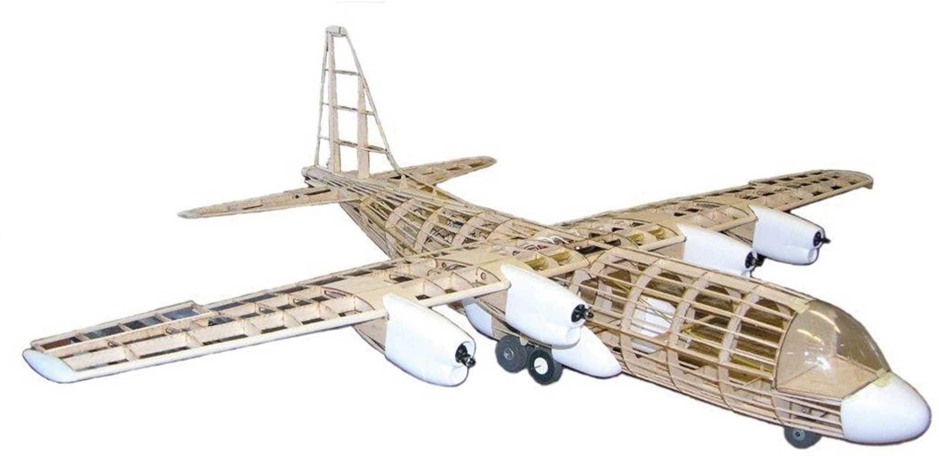 """DARE DESIGN AC-130 Hercules 60"""" Holzbausatz"""