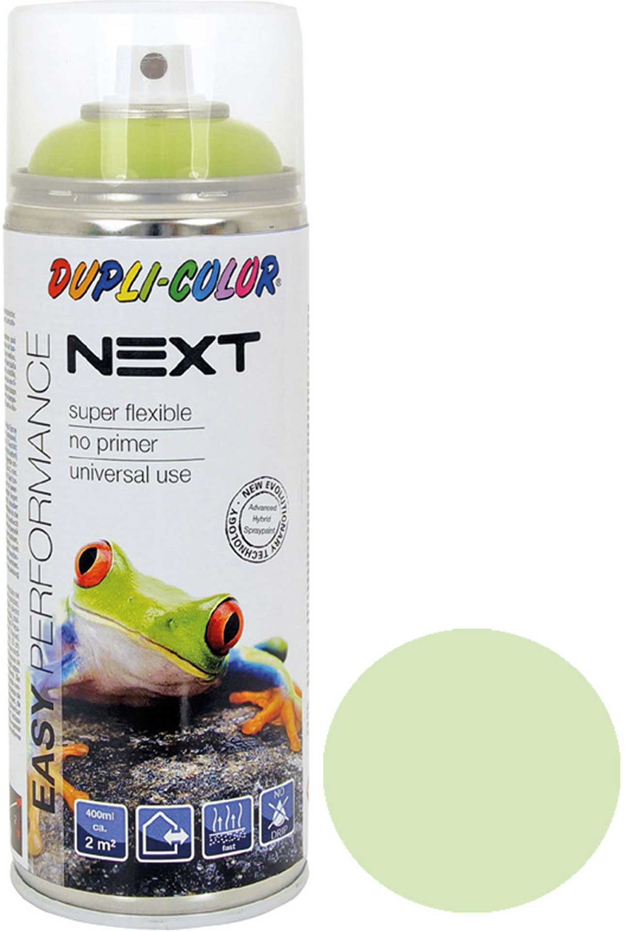 DUPLI-COLOR NEXT VIENNA LIGHT GREEN SDM. 400ML SPRAY LACQUER