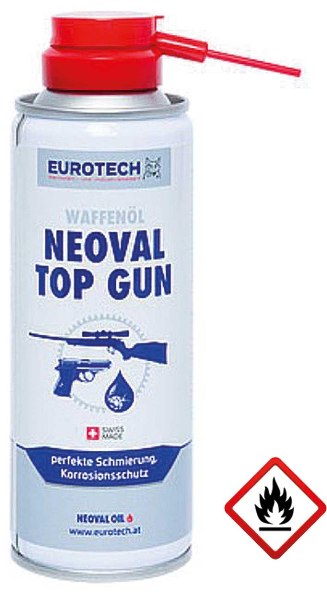 EUROTECH NEOVAL OIL TOP-GUN 200ML WAFFENÖL