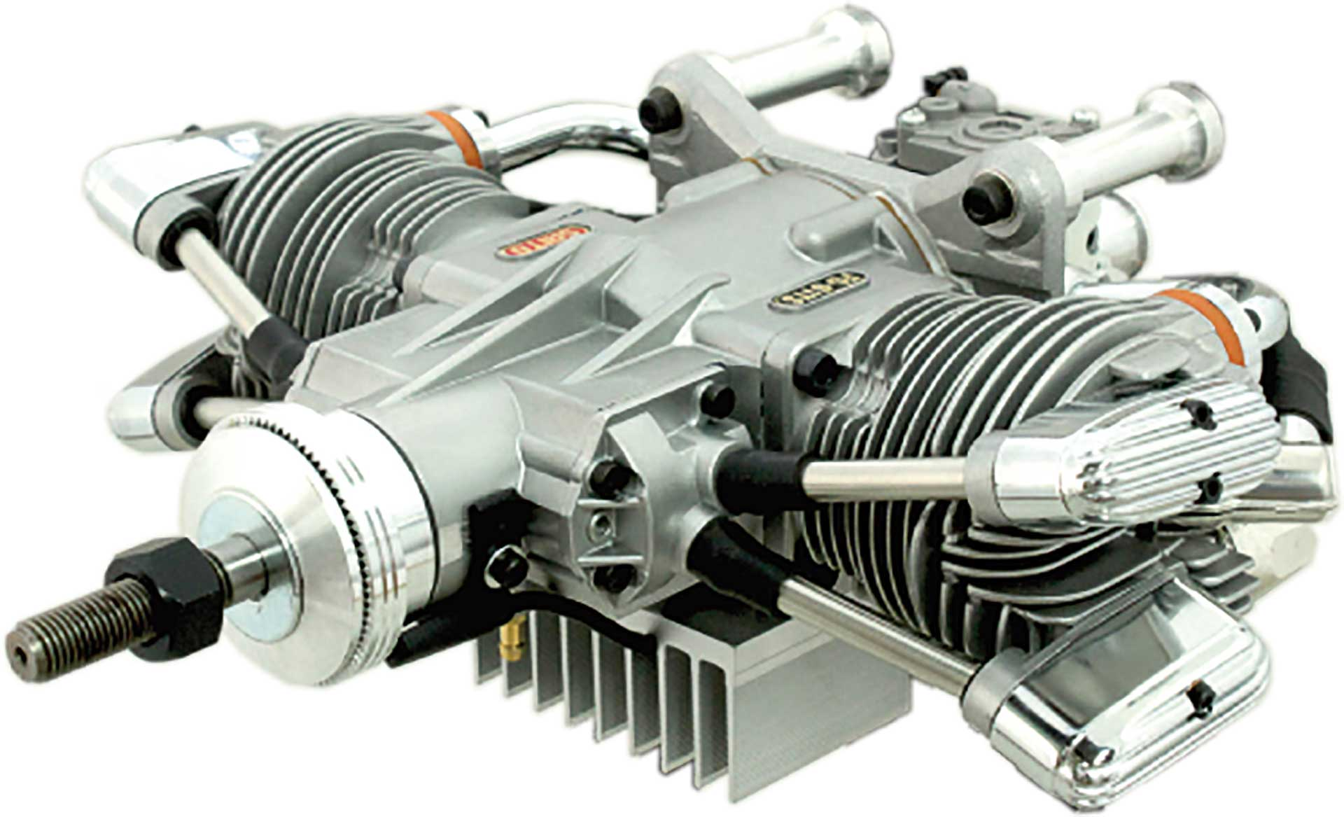 SAITO FG-61TS BENZIN BOXER MOTOR 2-ZYLINDER