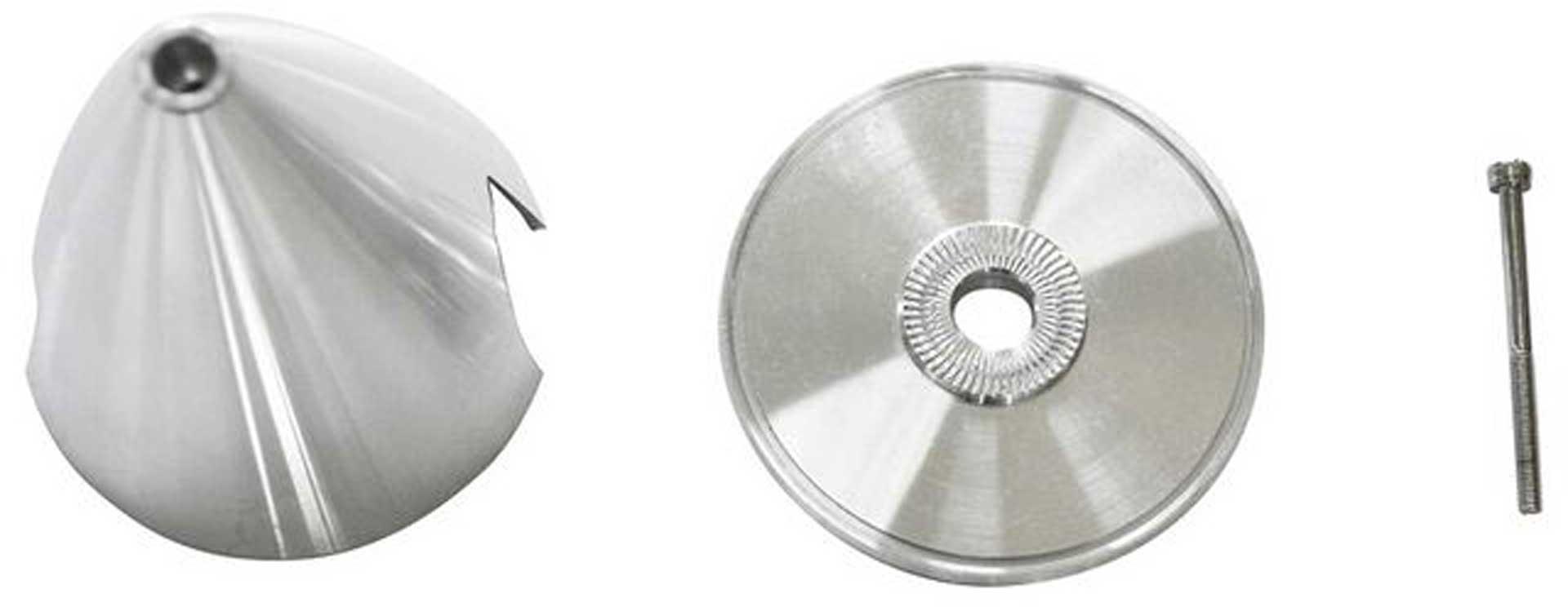 """E-Flite 2.50"""" Aluminum Spinner Ultimate Style"""