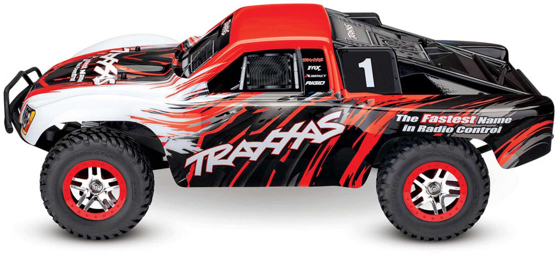 TRAXXAS SLASH 4X4 VXL RED RTR RTR 1/10 BRUSHLESS SHORT COURSE TRUCK