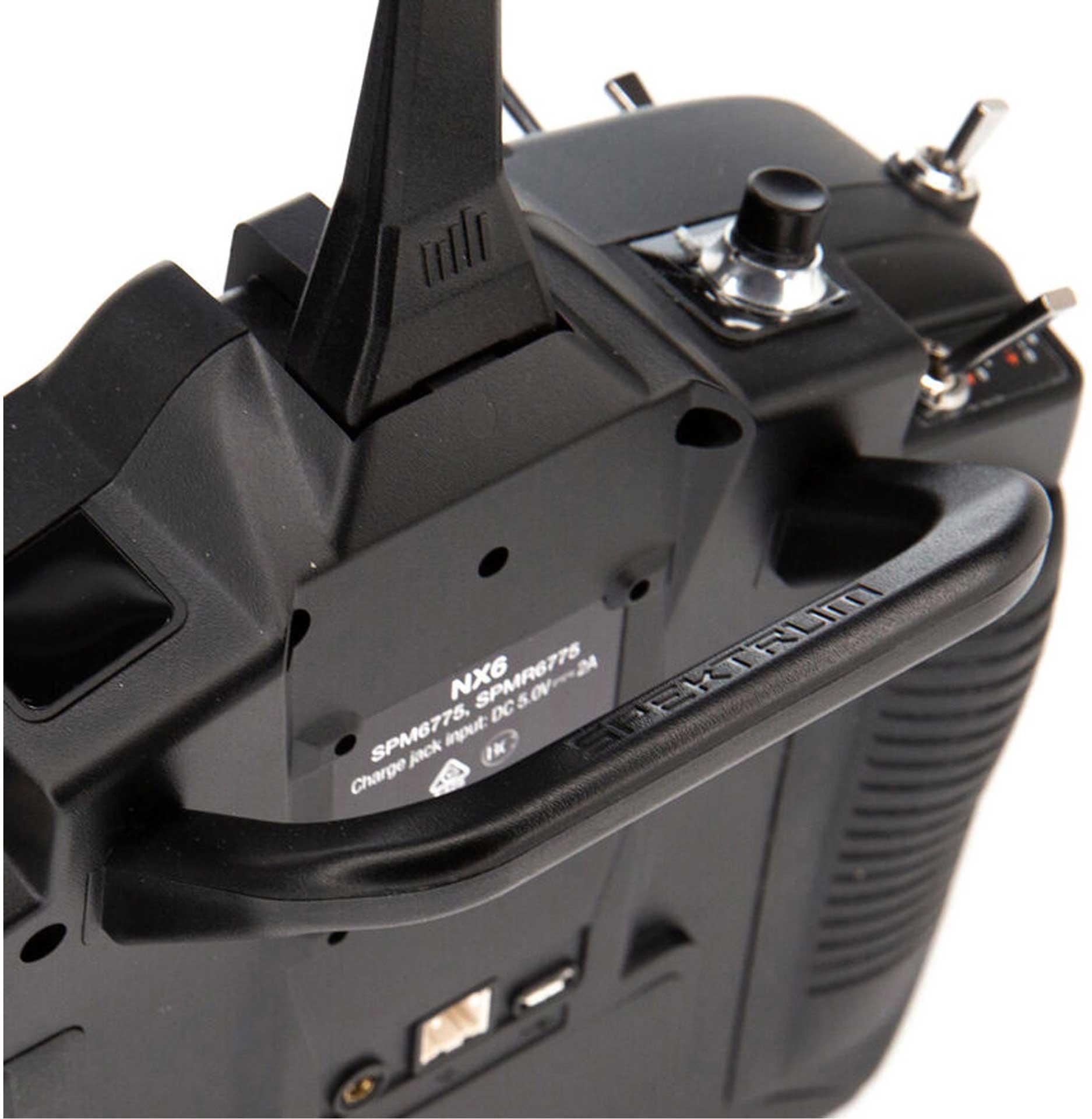 SPEKTRUM NX6 6-Kanal Einzelsender DSMX 2,4Ghz Fernsteuerung
