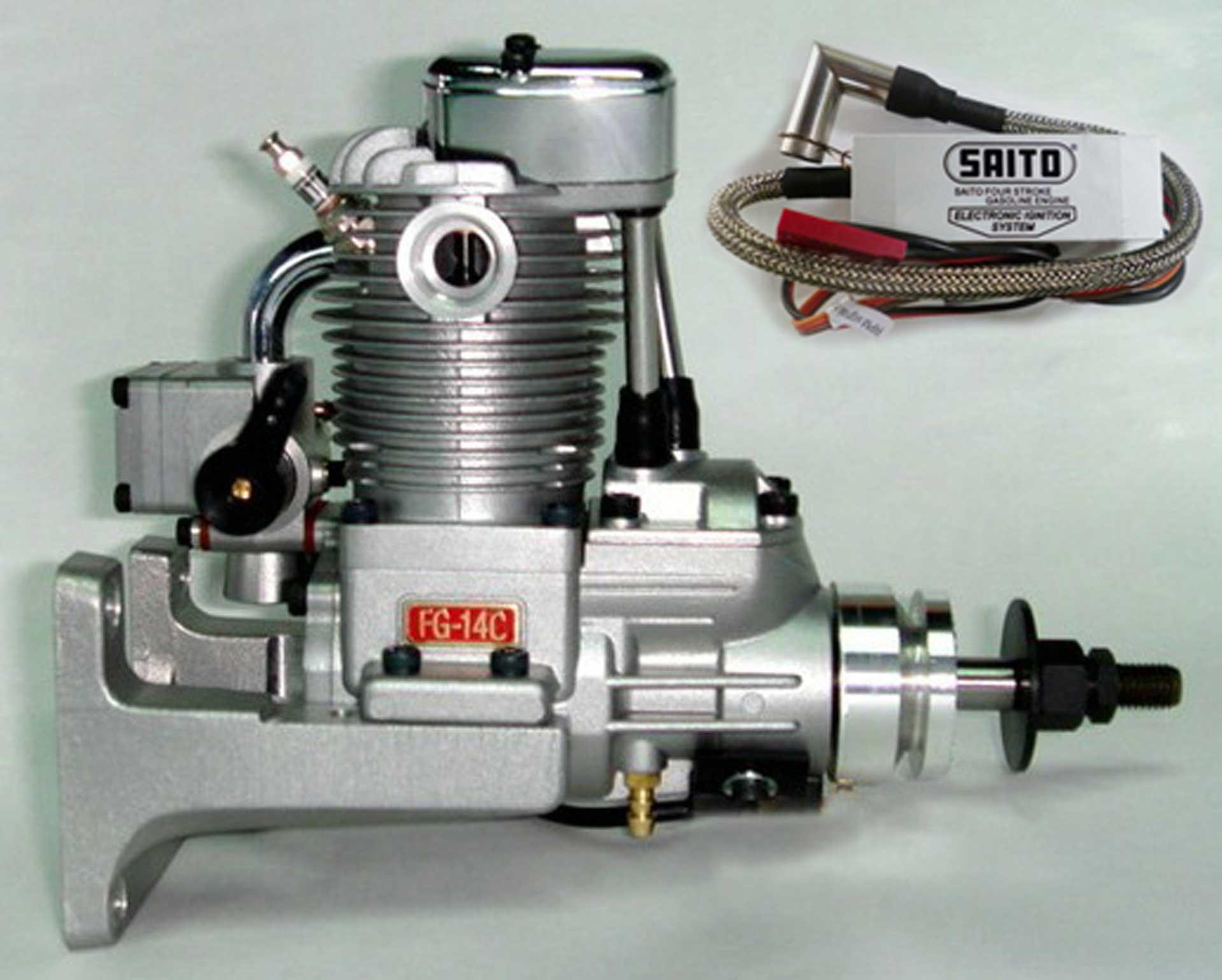 SAITO FG-14C BENZIN MOTOR