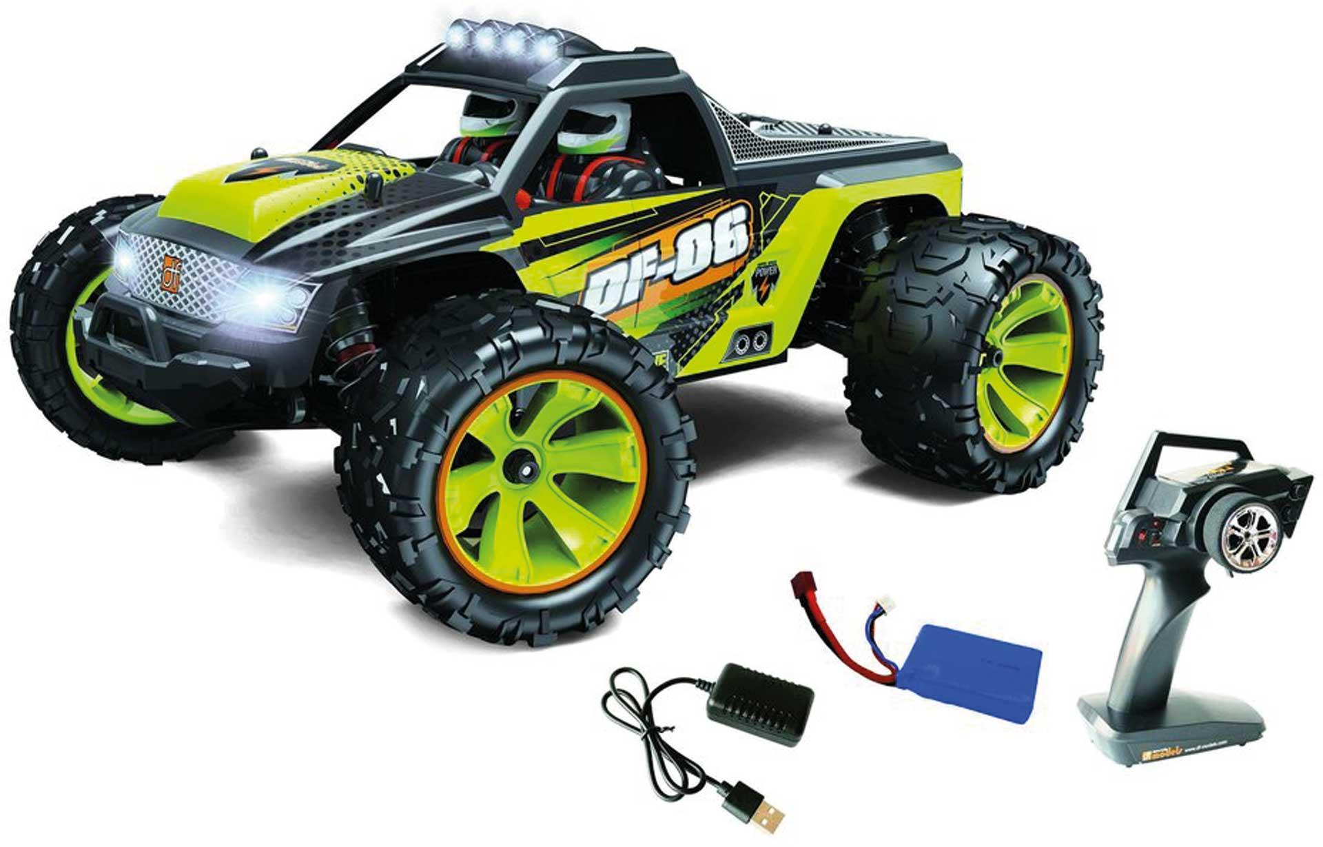 DRIVE & FLY MODELS DF06 Evolution 1/14 RTR Truck EP 4WD