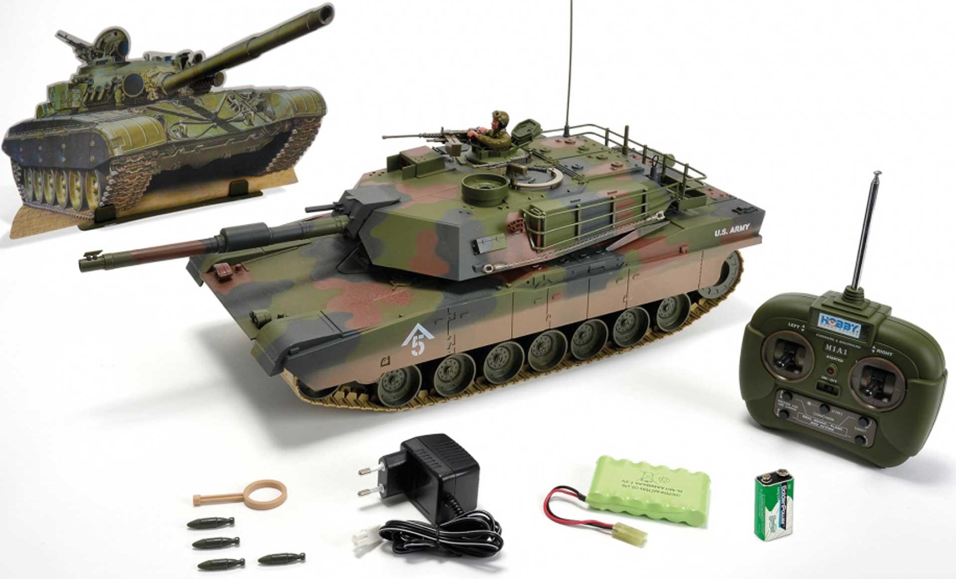 CARSON M1A1 Abrams Panzer 1/16 2,4Ghz 100% RTR