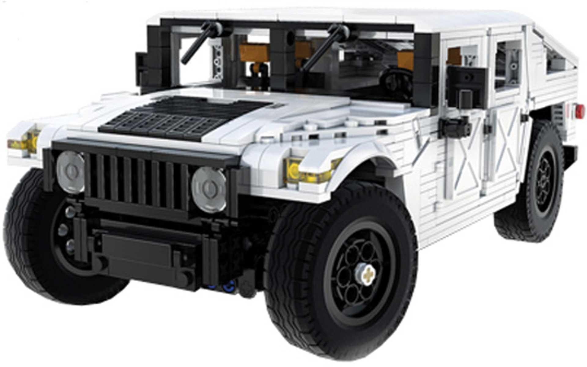 CaDA Humvee (1386 Teile) Klemmbausteine