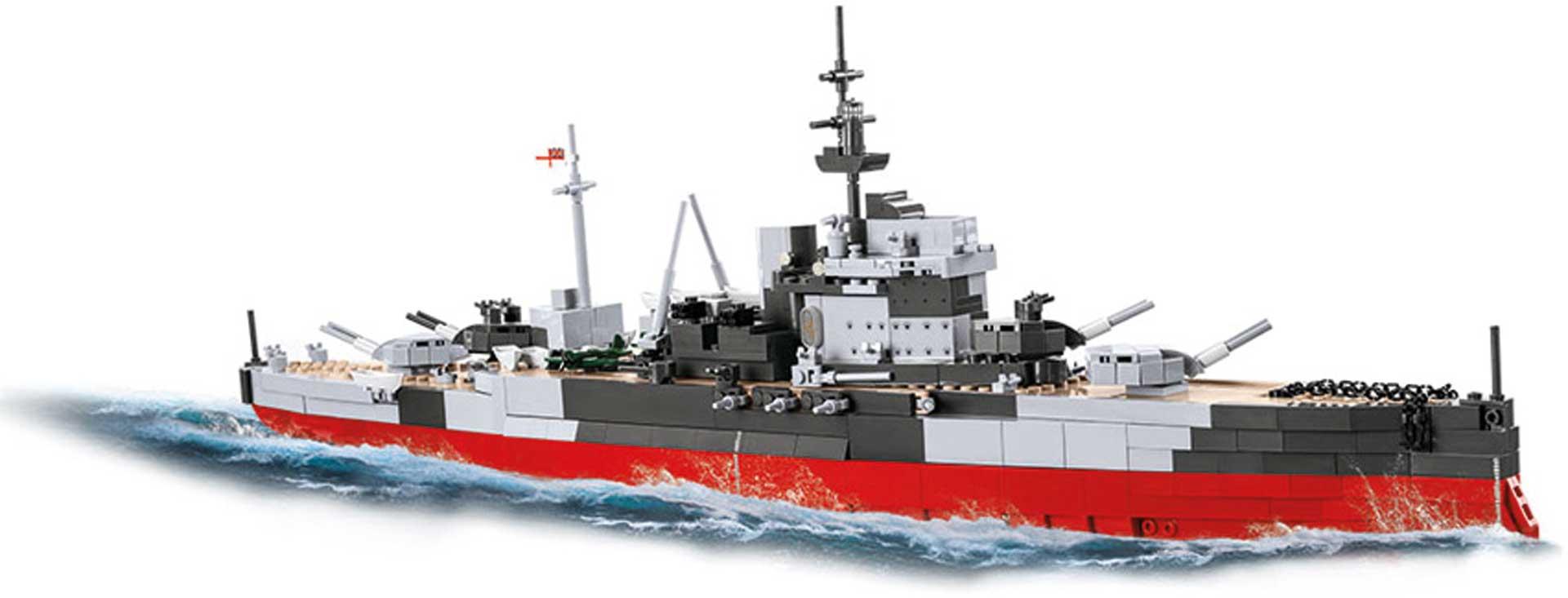 COBI HMS Warspite (1520 Teile) Klemmbausteine