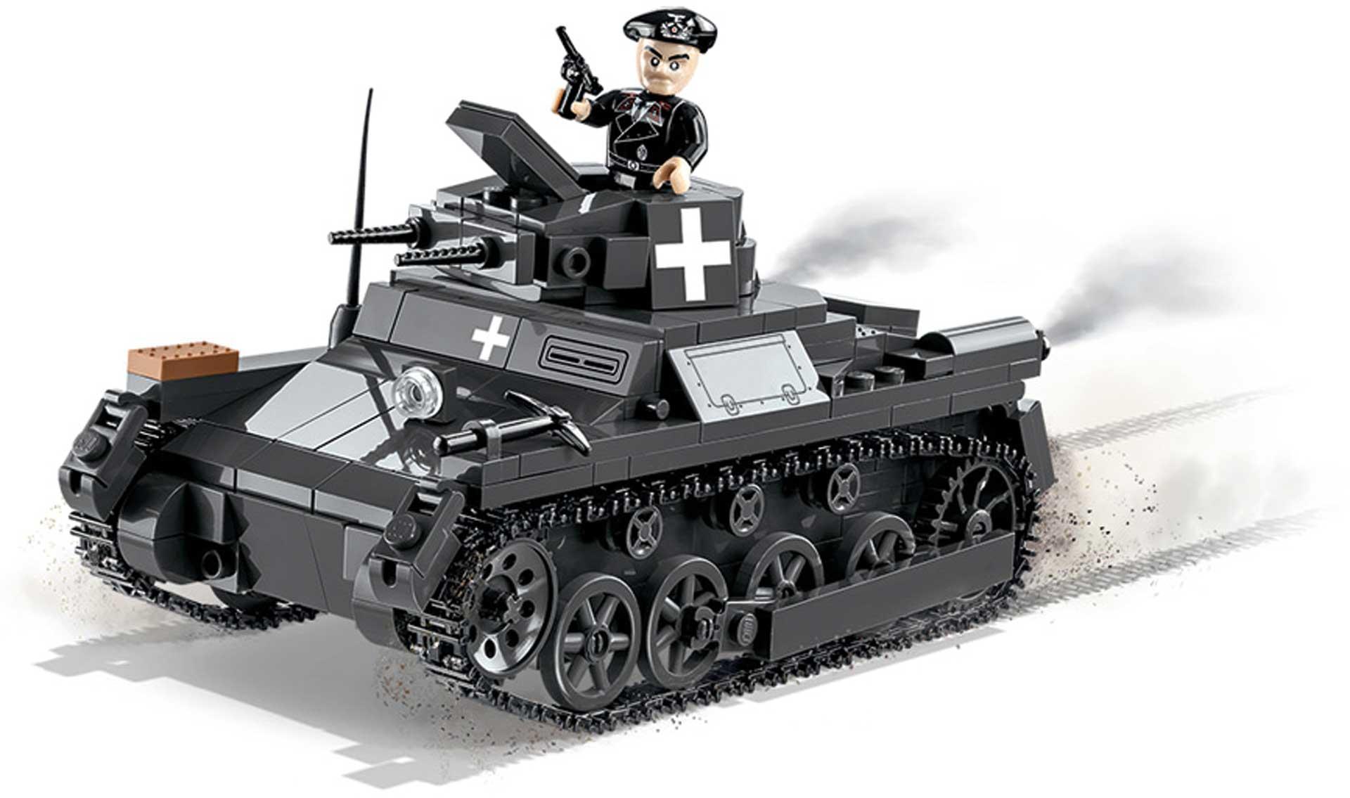 COBI Panzer I Ausf. A (330 Teile) Klemmbausteine