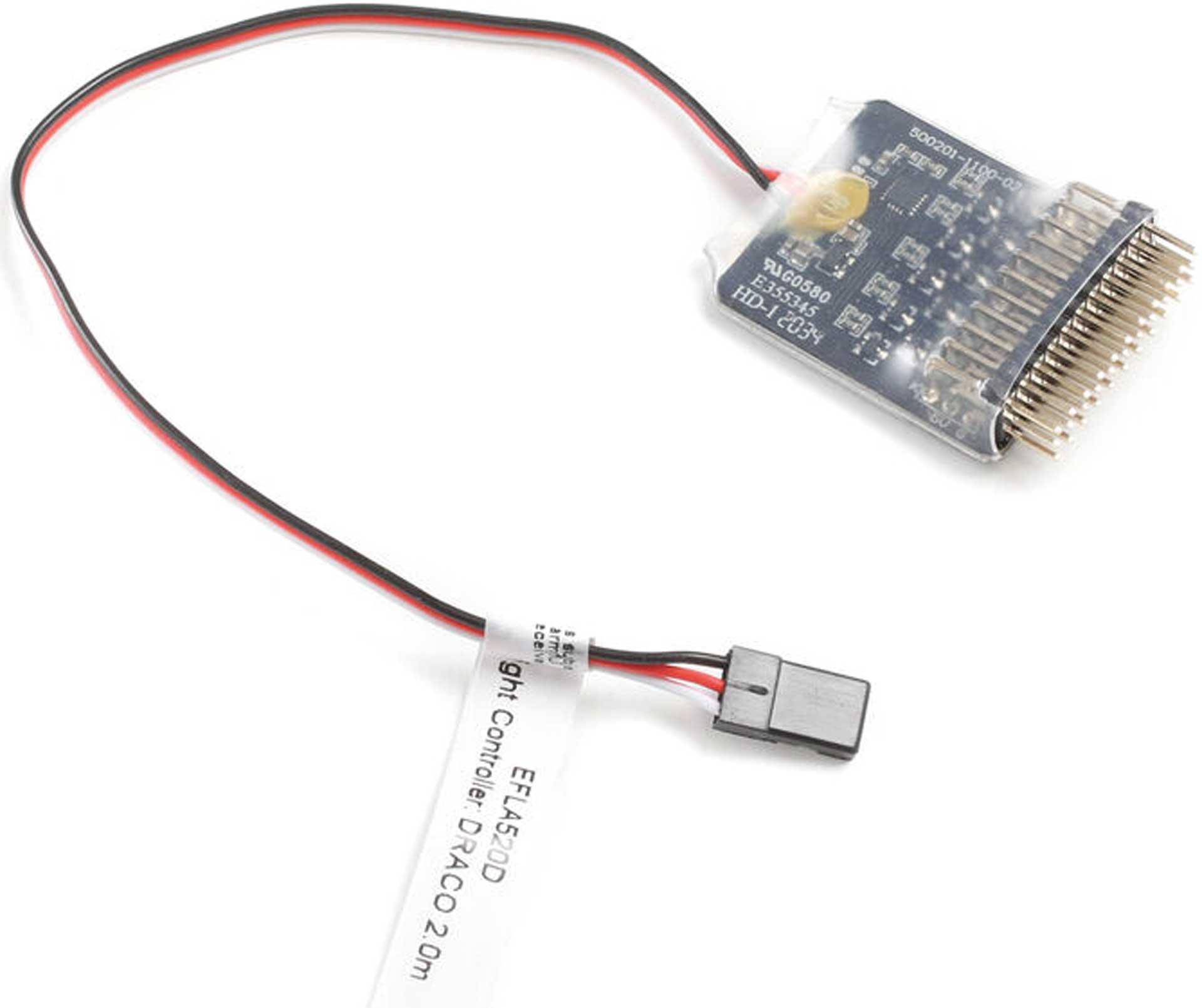 E-FLITE Light Controller: DRACO 2.0m