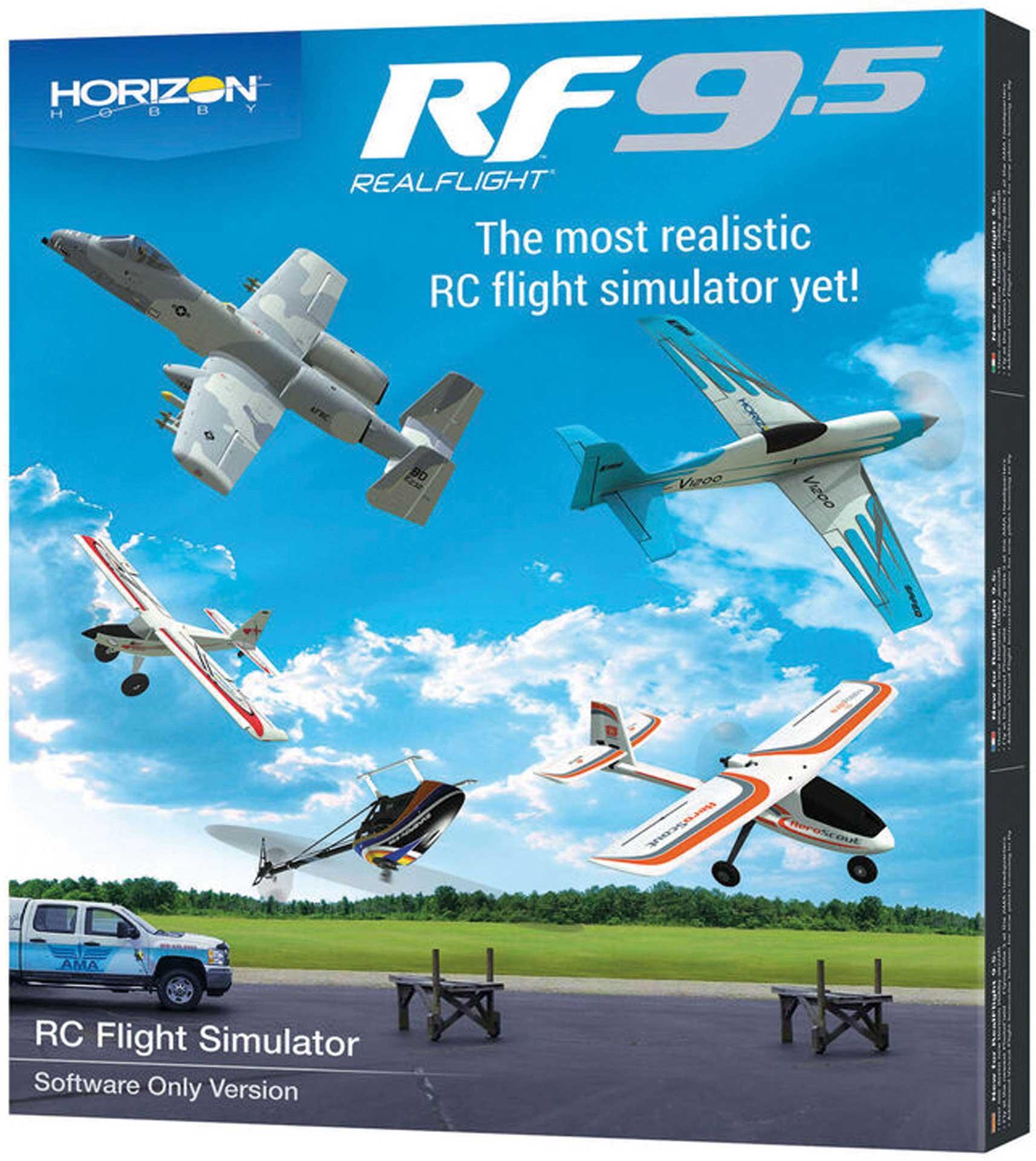 REALFLIGHT RF 9.5 Flugsimulator only Software