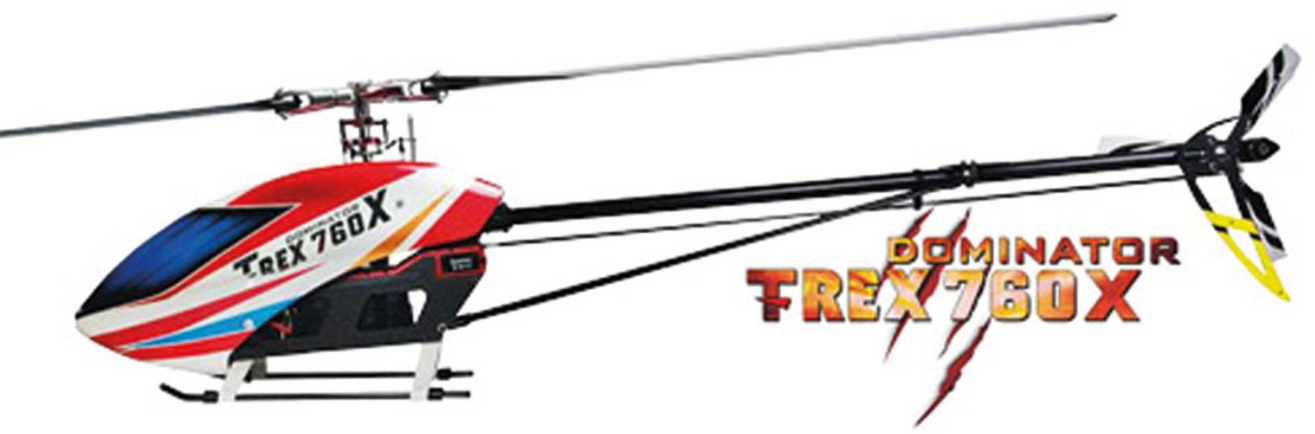 ALIGN T-REX 760X 3D DOMINATOR TOP SUPER COMBO Hubschrauber / Helikopter