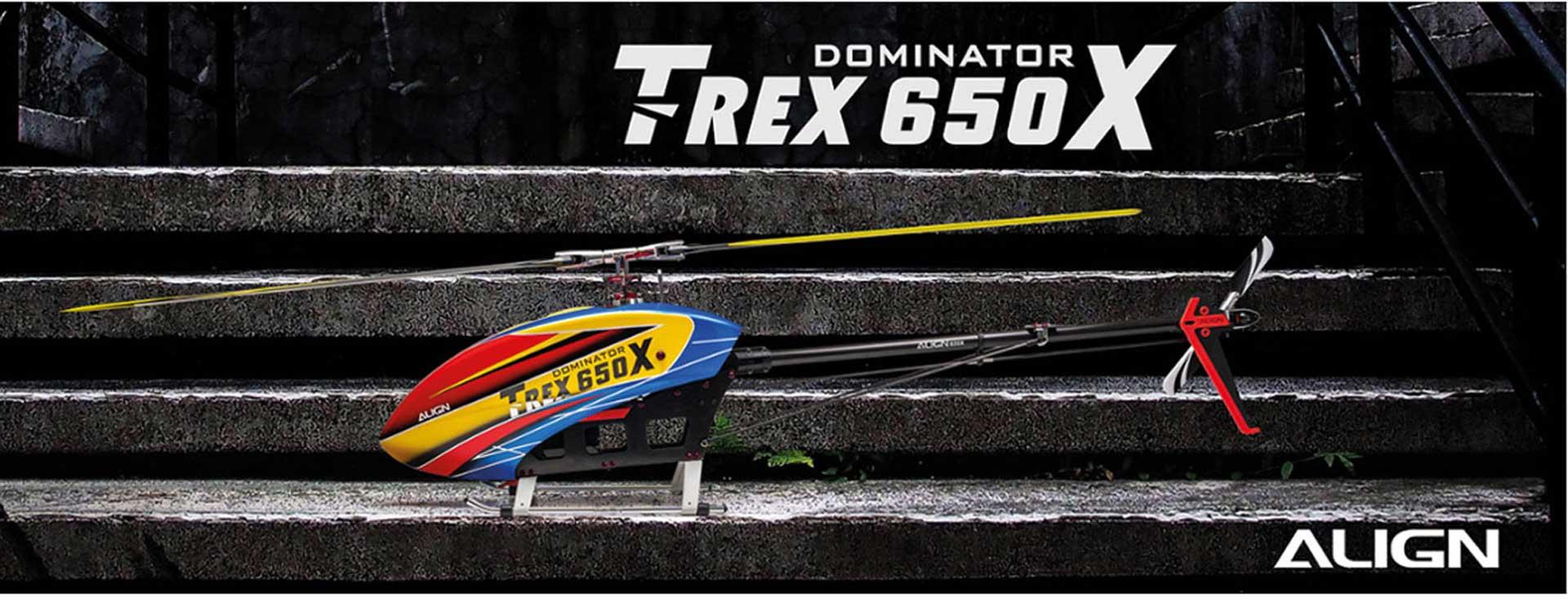ALIGN T-REX 650X Dominator Kit (12S)