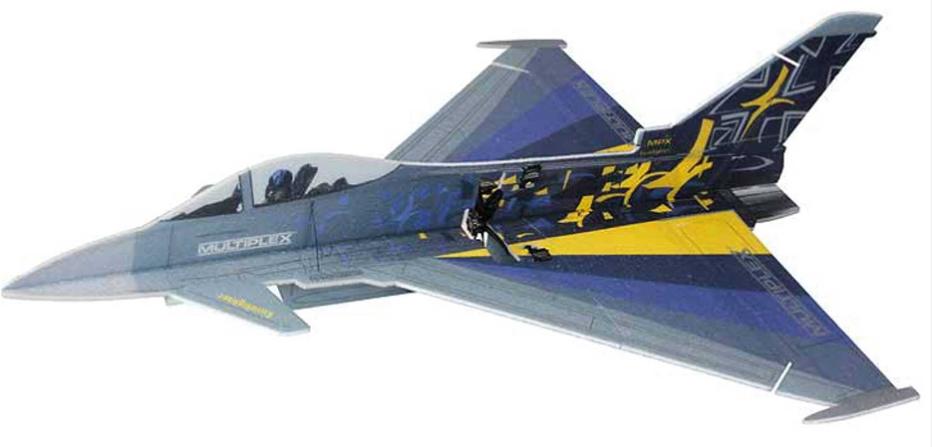 Multiplex Eurofighter Indoor 3D Jet