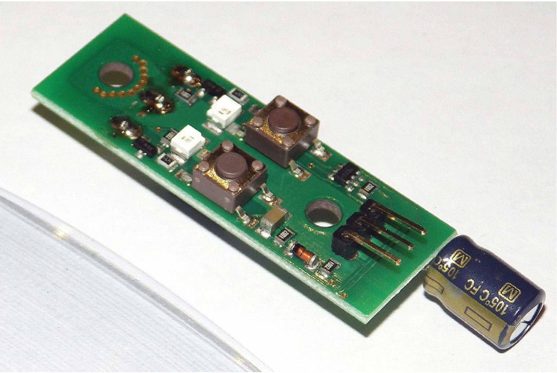 ACT DPS-25 BATTERY BACKER 25A WITH ELECTRONIC SAFETY SWITCH, CIRCUIT BOARD O. CABLE