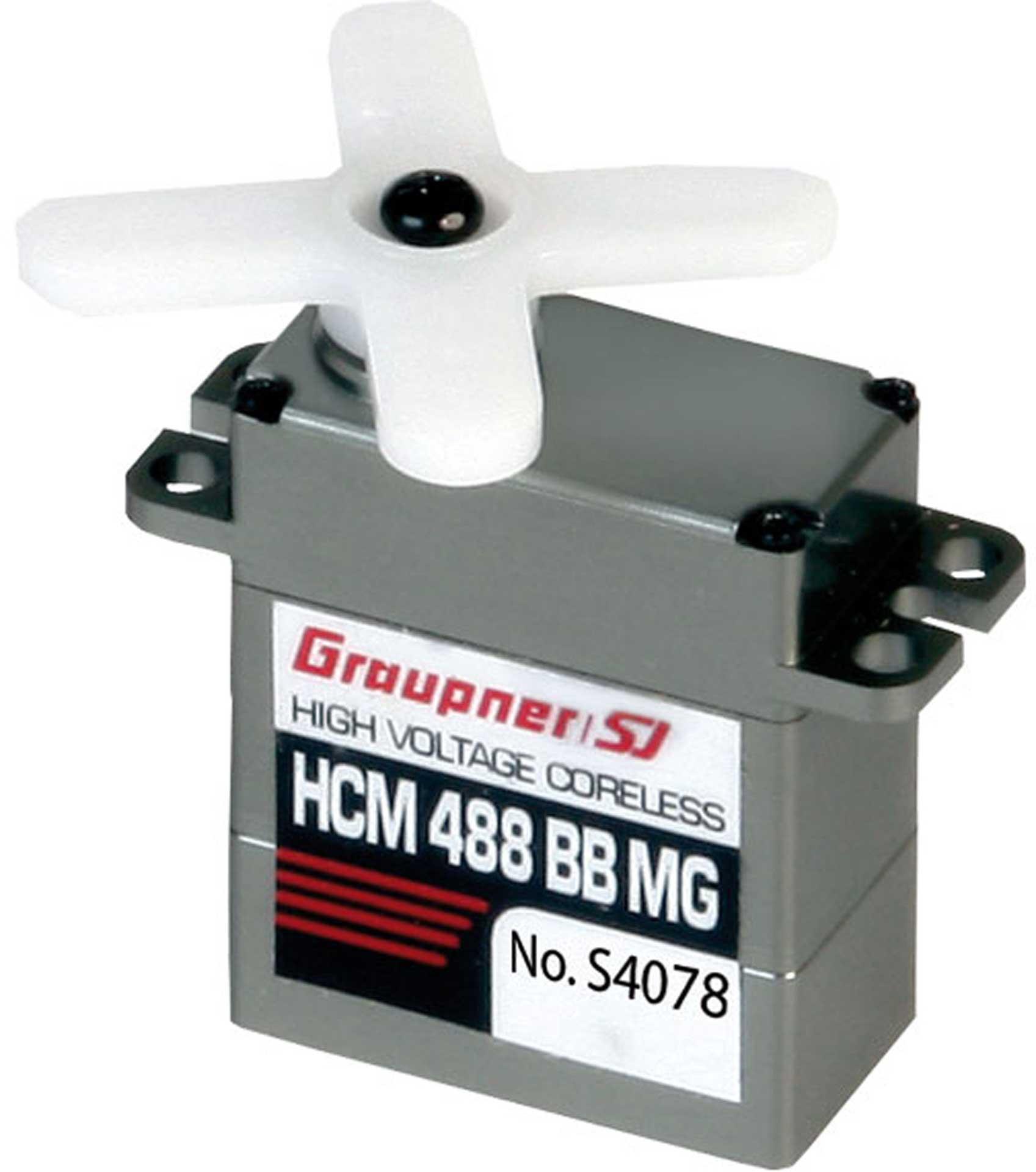 GRAUPNER HCM 488 BB MG DIGI HV SERVO
