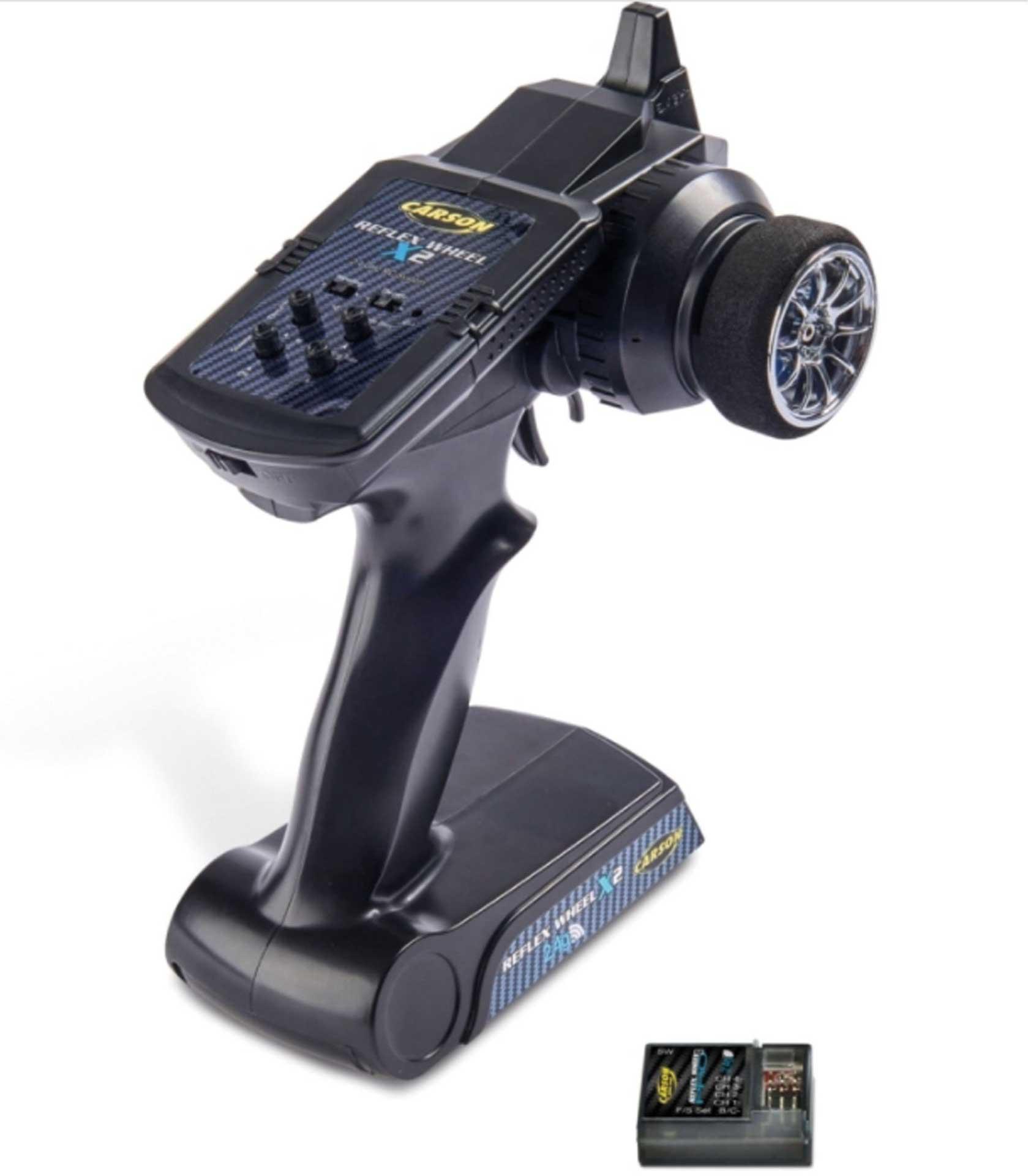CARSON FS Reflex X2 2-Kanal 2.4Ghz Fernsteuerung