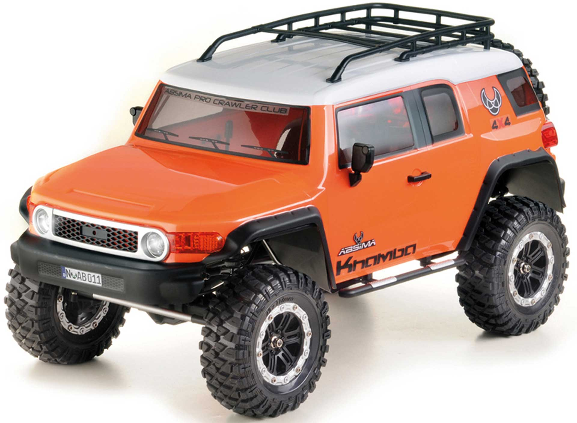 "ABSIMA CR3.4 ""KHAMBA"" 1/10 Orange RTR Crawler"