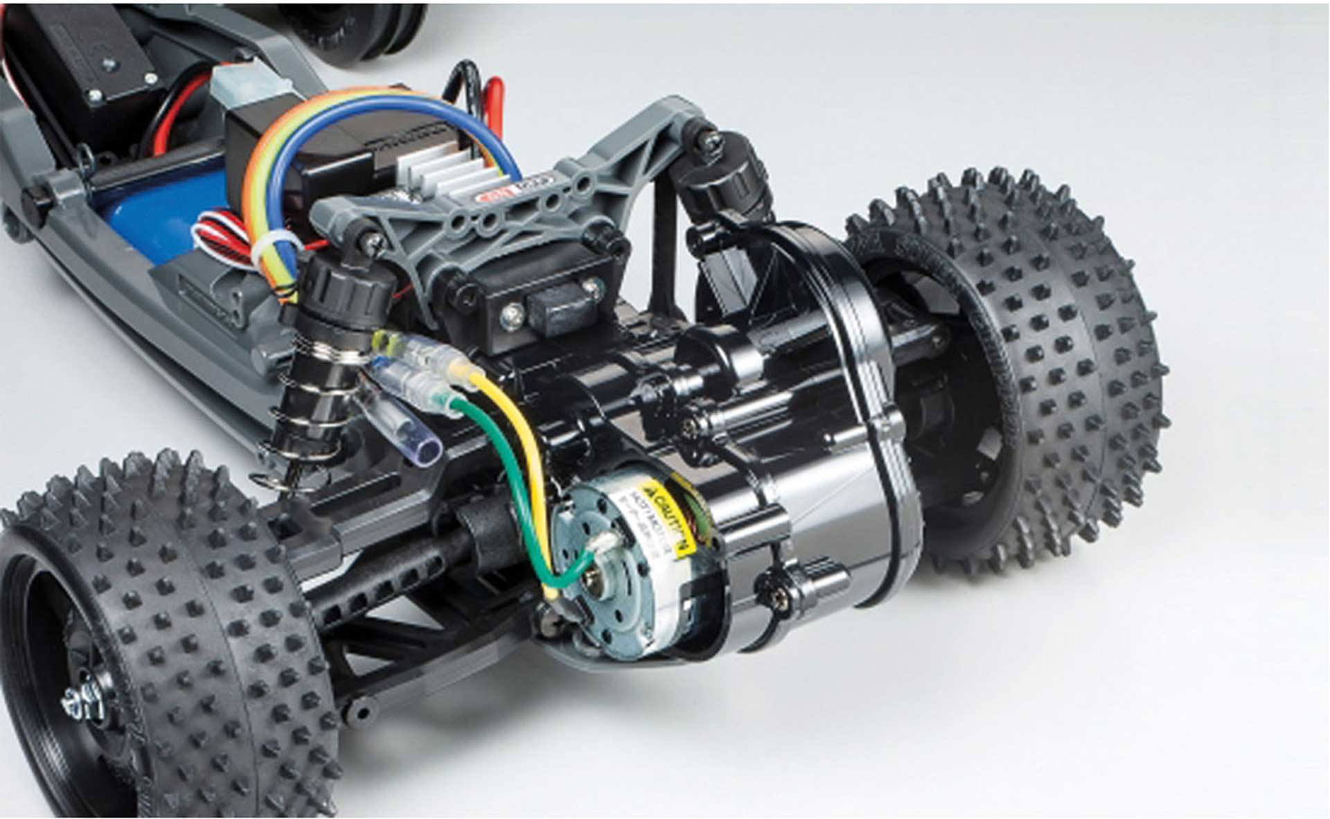TAMIYA RACING FIGHTER DT-03 THE REAL KIT