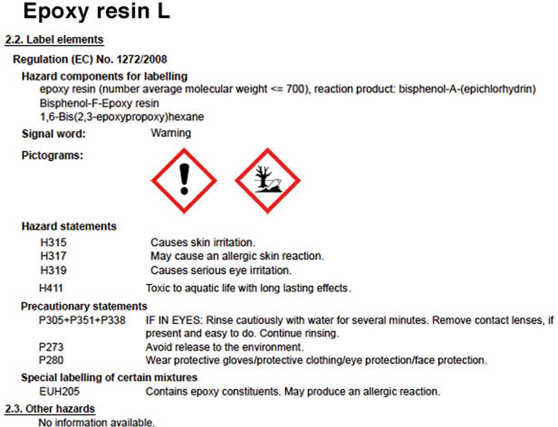 R&G Epoxidharz L + Härter GL 2 (210 Min.) Packung/ 3,25 kg