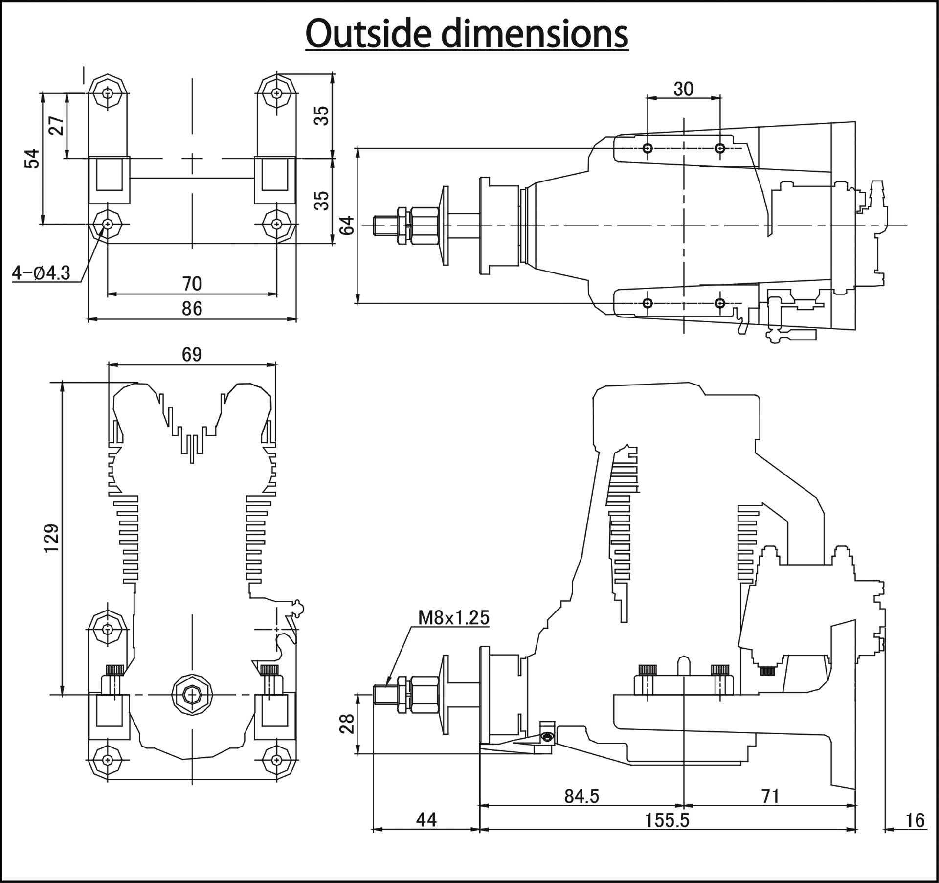 SAITO FG-40 BENZIN MOTOR