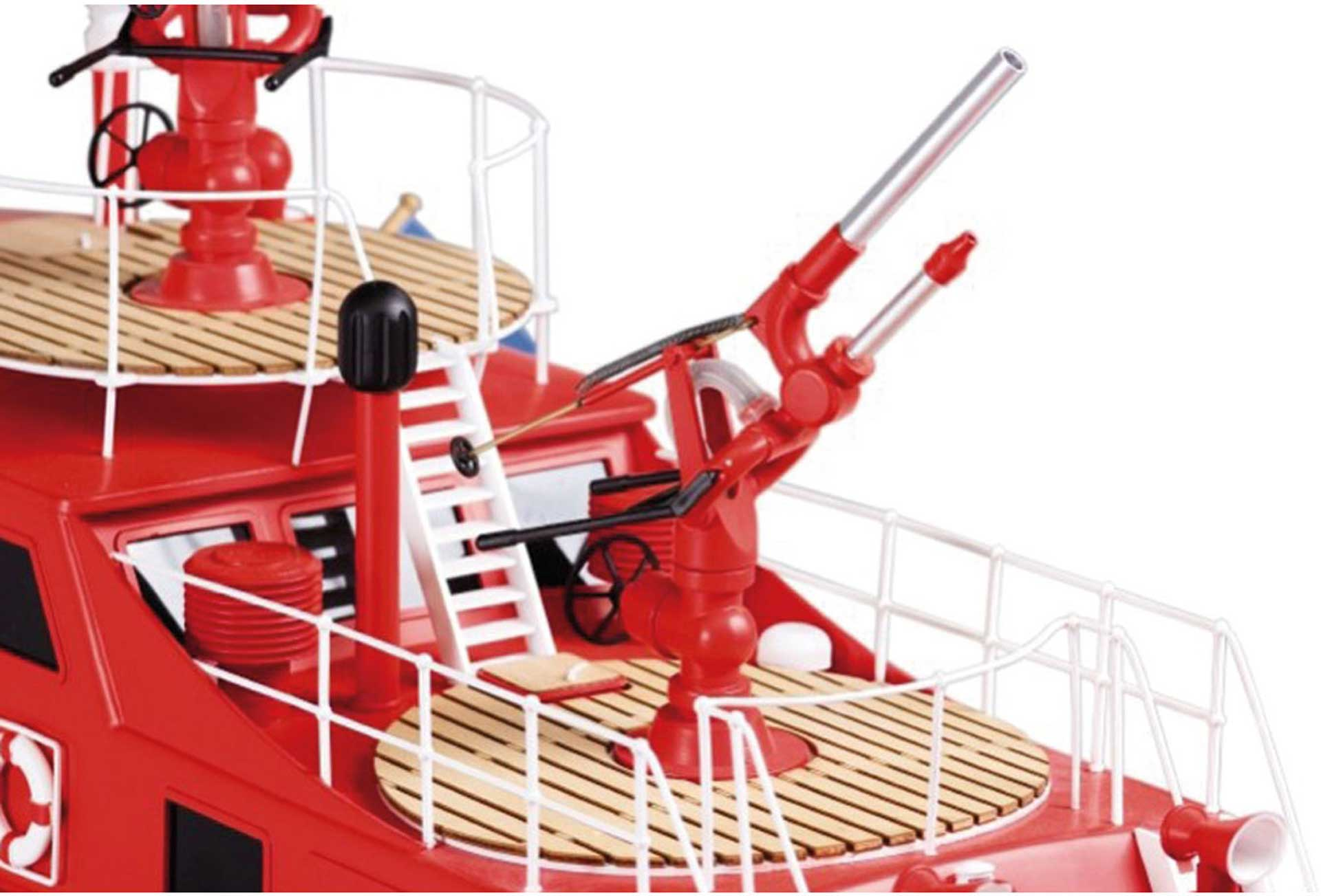 ROMARIN FIRE FIGHTING BOAT DÜSSELDORF KIT 1/25
