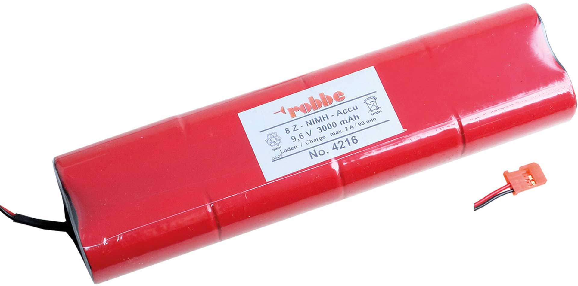 ROBBE TRANSMITTER BATTERY 9,6V 3300MAH, F14,FC