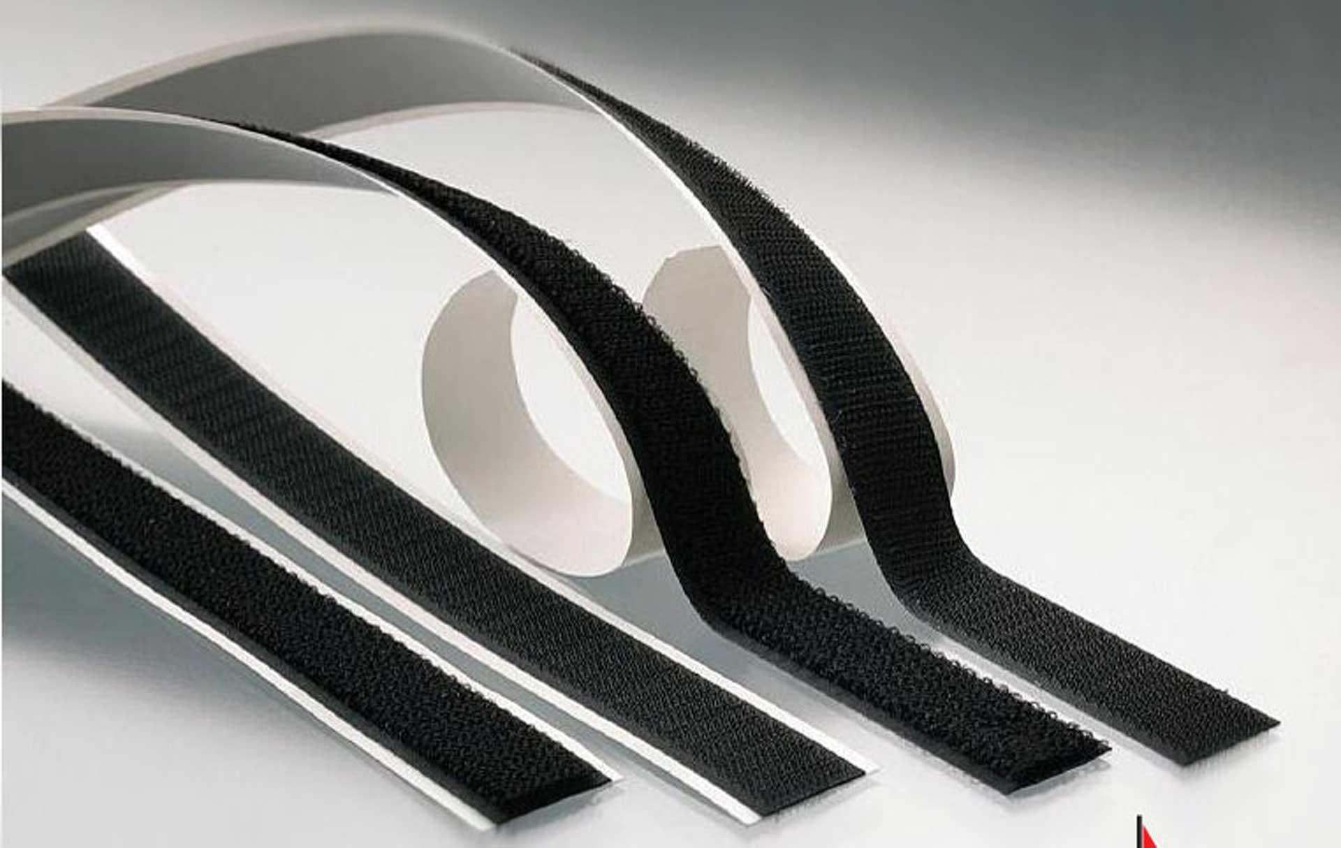 ROMARIN Klettband selbstklebend 4x0,5m (2Stk. Flausch- / 2Stk. Hackenband) 20mm Breite