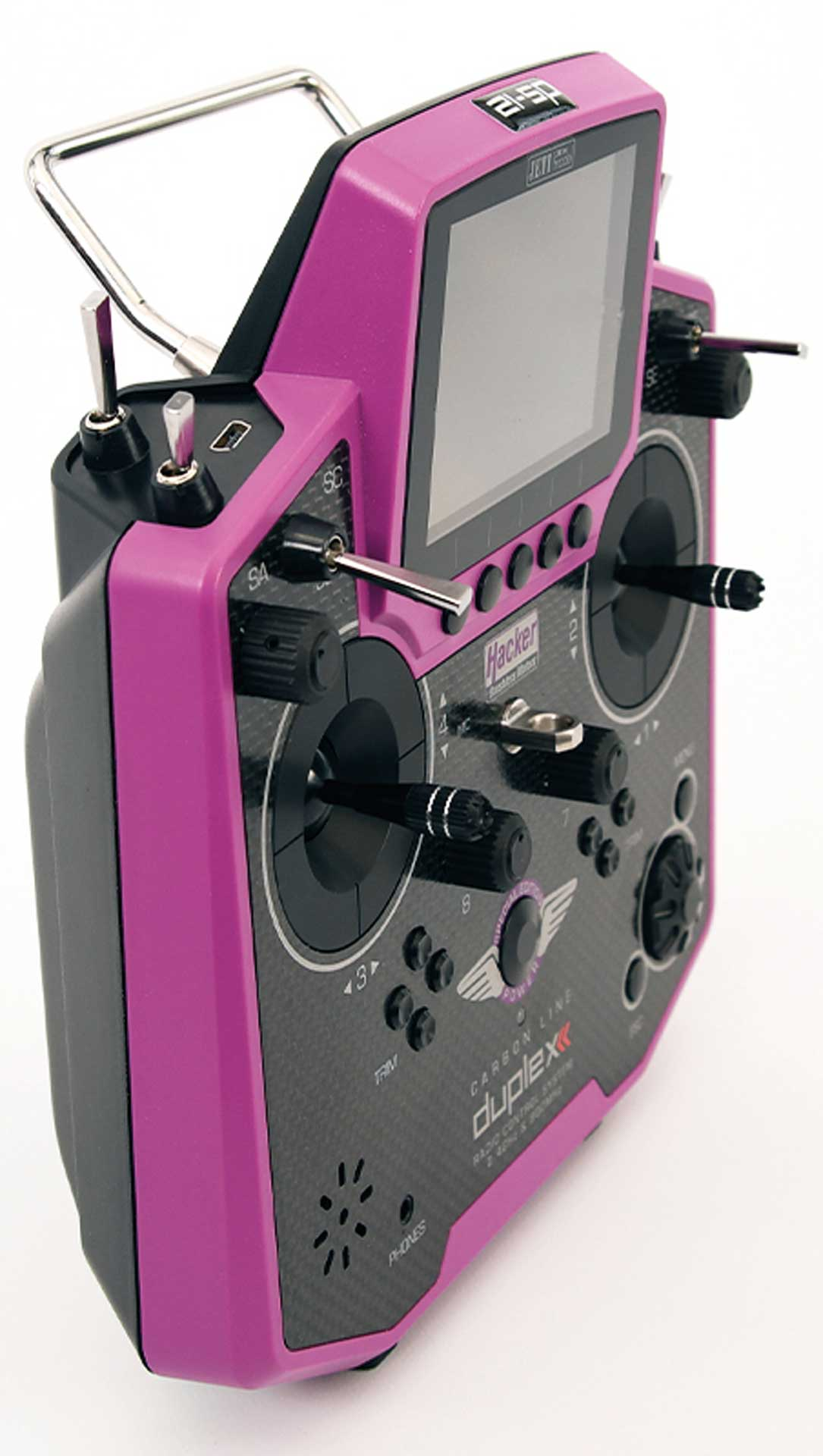 JETI DS-12 Duplex Handsender Special Edition Carbon Purple Multimode