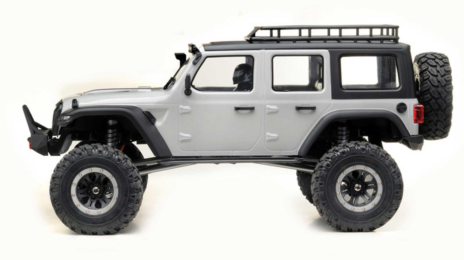 """ABSIMA CR1.8 """"YUCATAN"""" 1/8 Hellgrau 4WD RTR Crawler"""