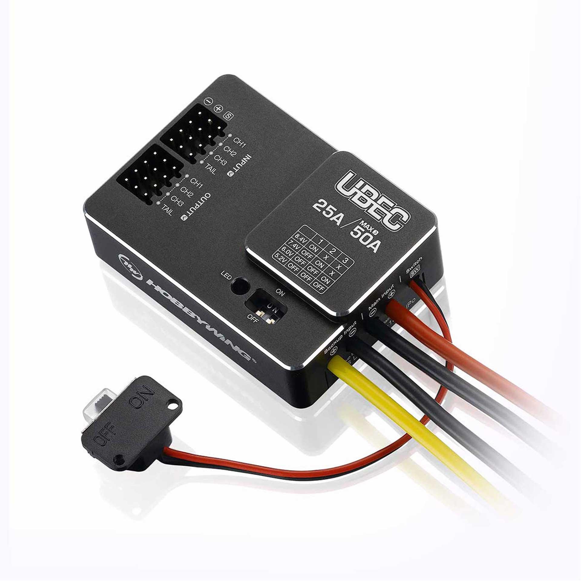 HOBBYWING BEC 25A UBEC CONTROLLER FOR 3-18S