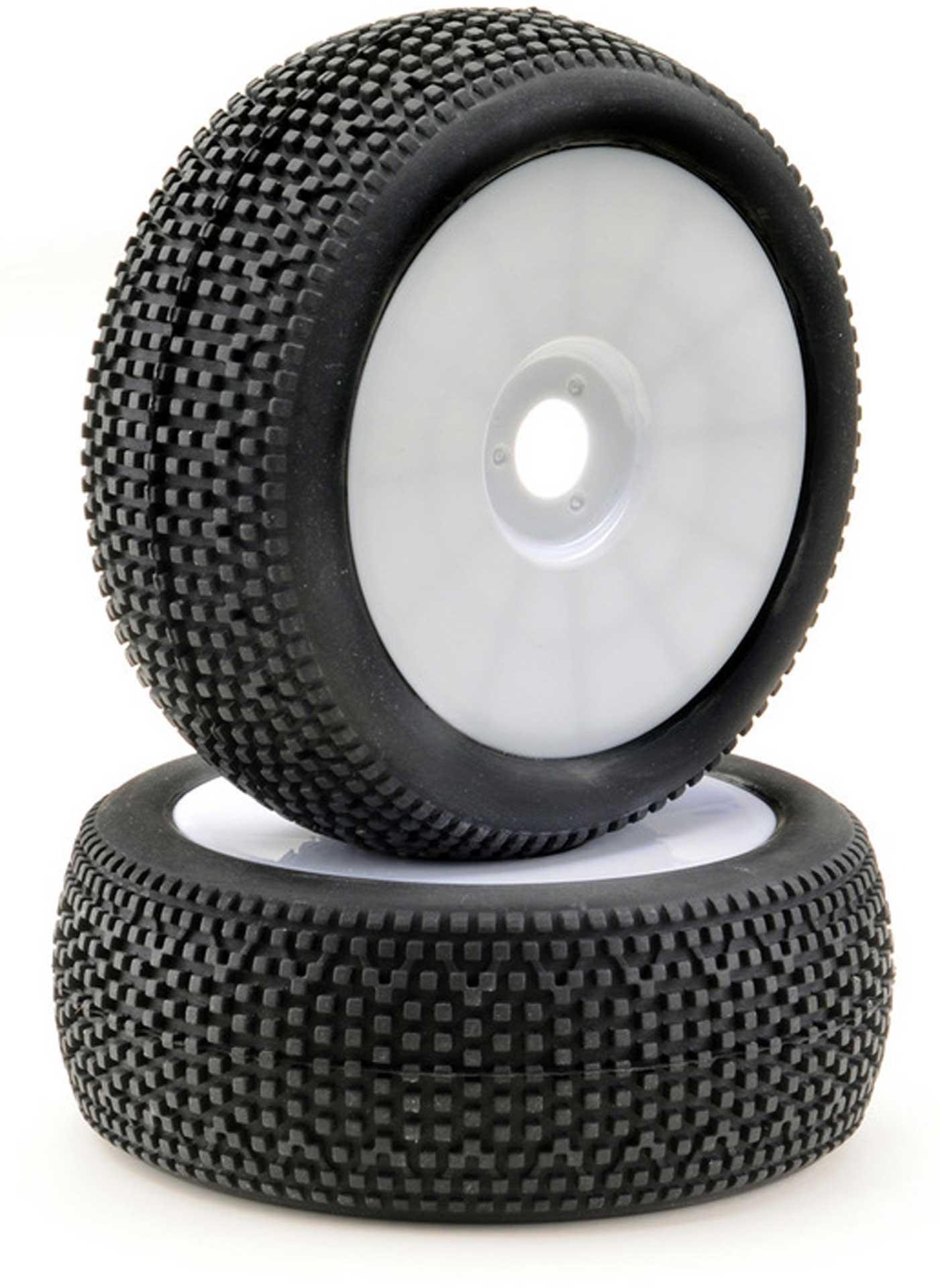 "ABSIMA Räderset Buggy Disc ""Mini Pin"" weiß 1/8 (2)"