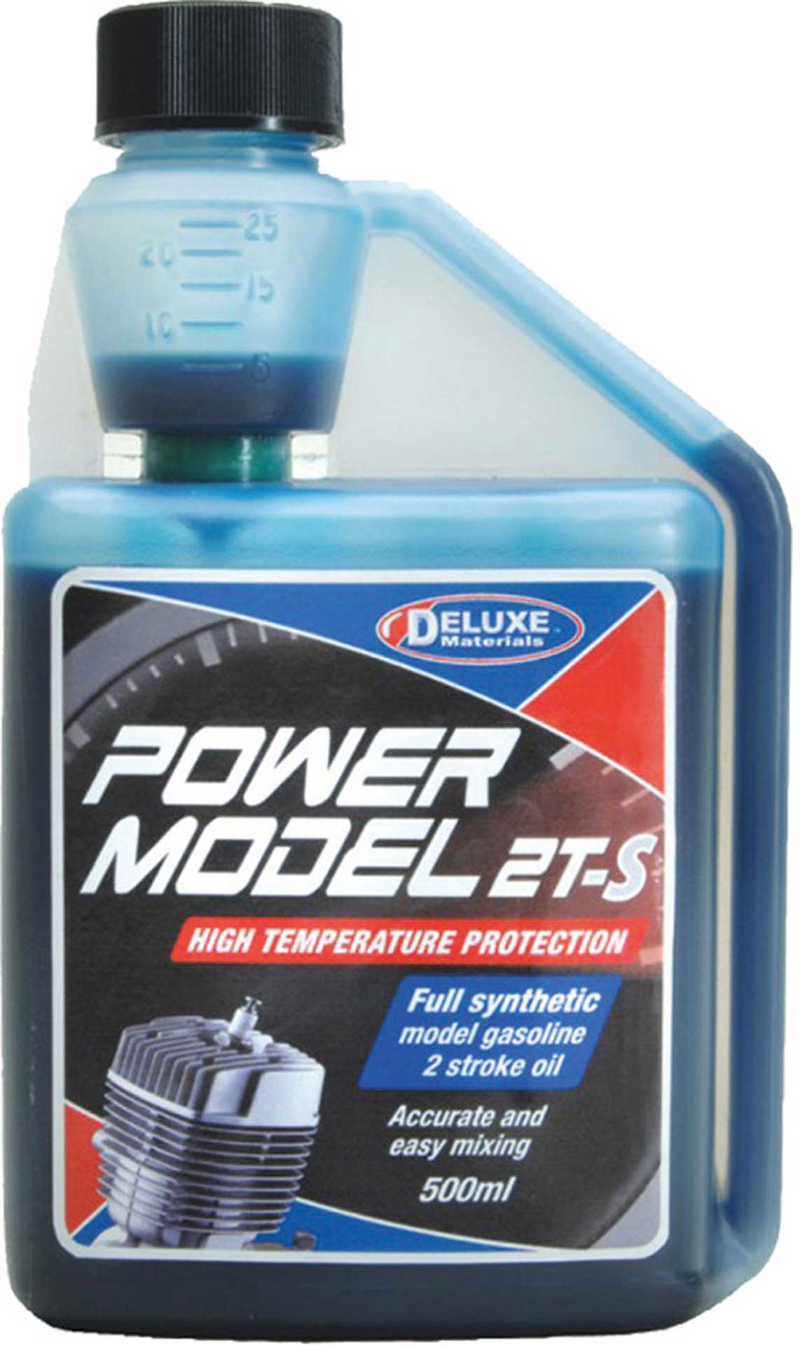 DELUXE POWER MODEL 2T-S SYNTHETIC OIL FOR 2-STROKE PETROL ENGINES