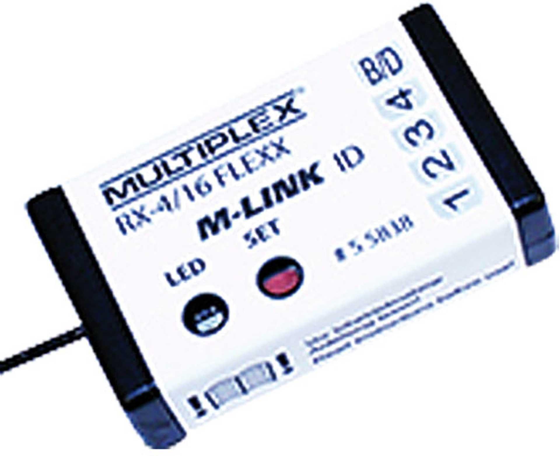 MULTIPLEX RX-4/16 FLEXX ID M-LINK 2,4GHZ EMPFÄNGER