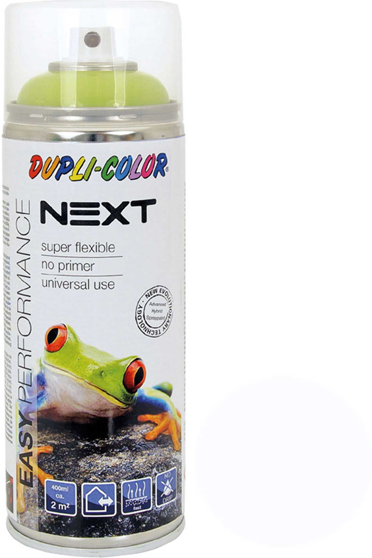 DUPLI-COLOR NEXT RAL 9010 MATT PURPLE WHITE 400ML SPRAY LACQUER