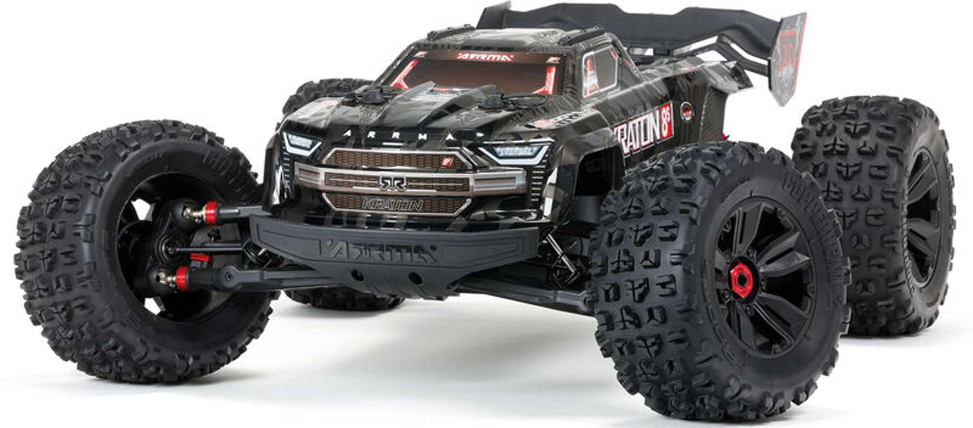 ARRMA Kraton 1/5 4WD EXtreme Bash Roller Schwarz