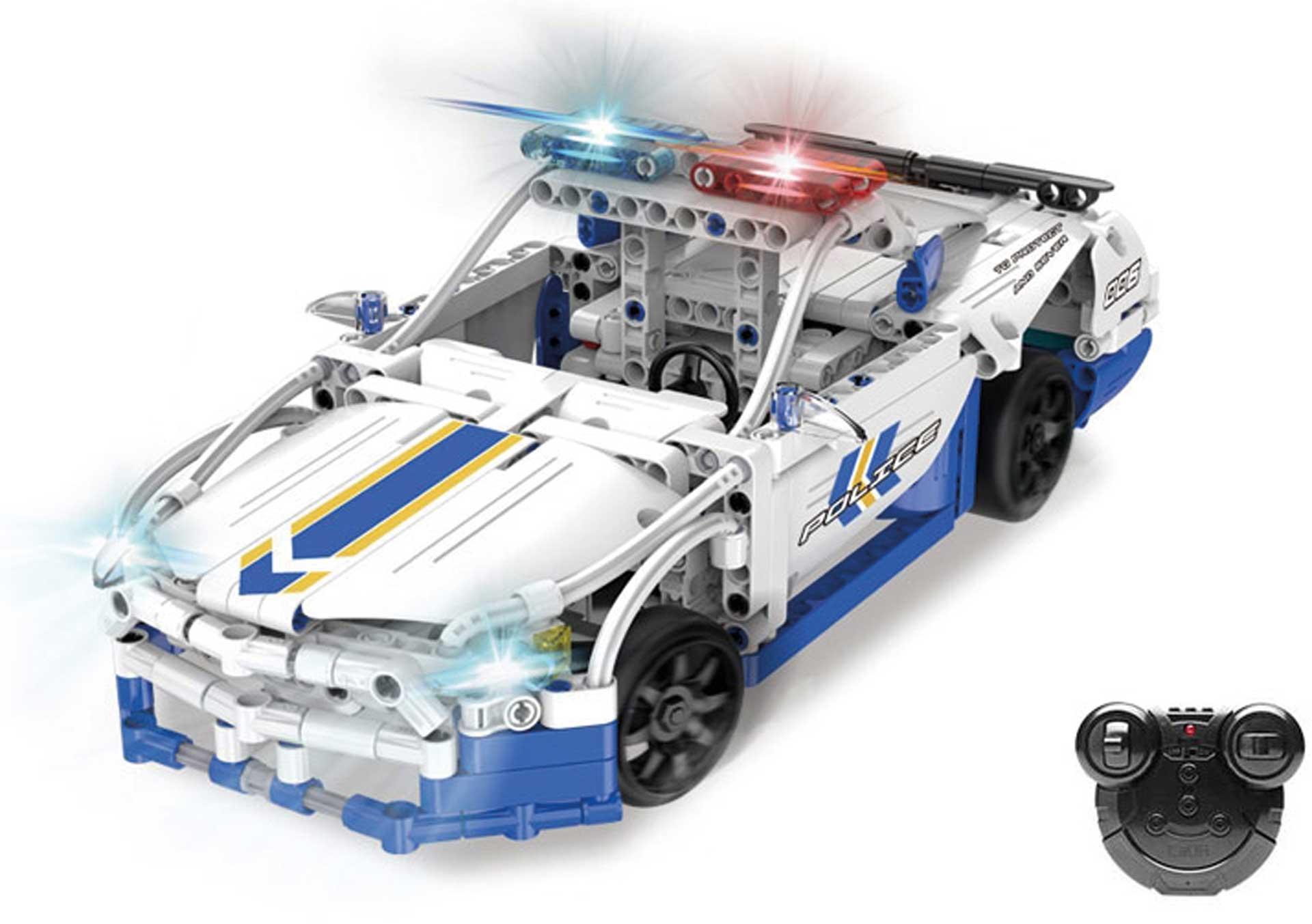 CaDA GT Police Car (430 Teile) Klemmbausteine ferngesteuert