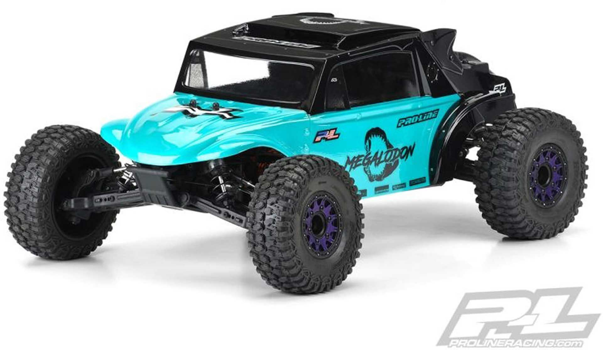 PROLINE Megalodon Desert Buggy body for Slash 2WD & 4X4 unpainted