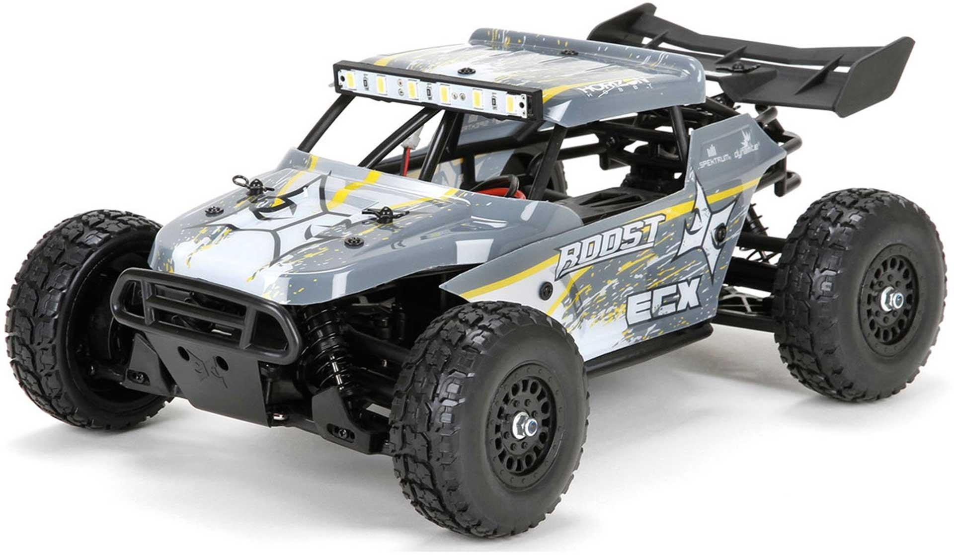 ECX ROOST 1/18 4WD DESERT BUGGY RTR GRAU/GEL GRAU / GELB